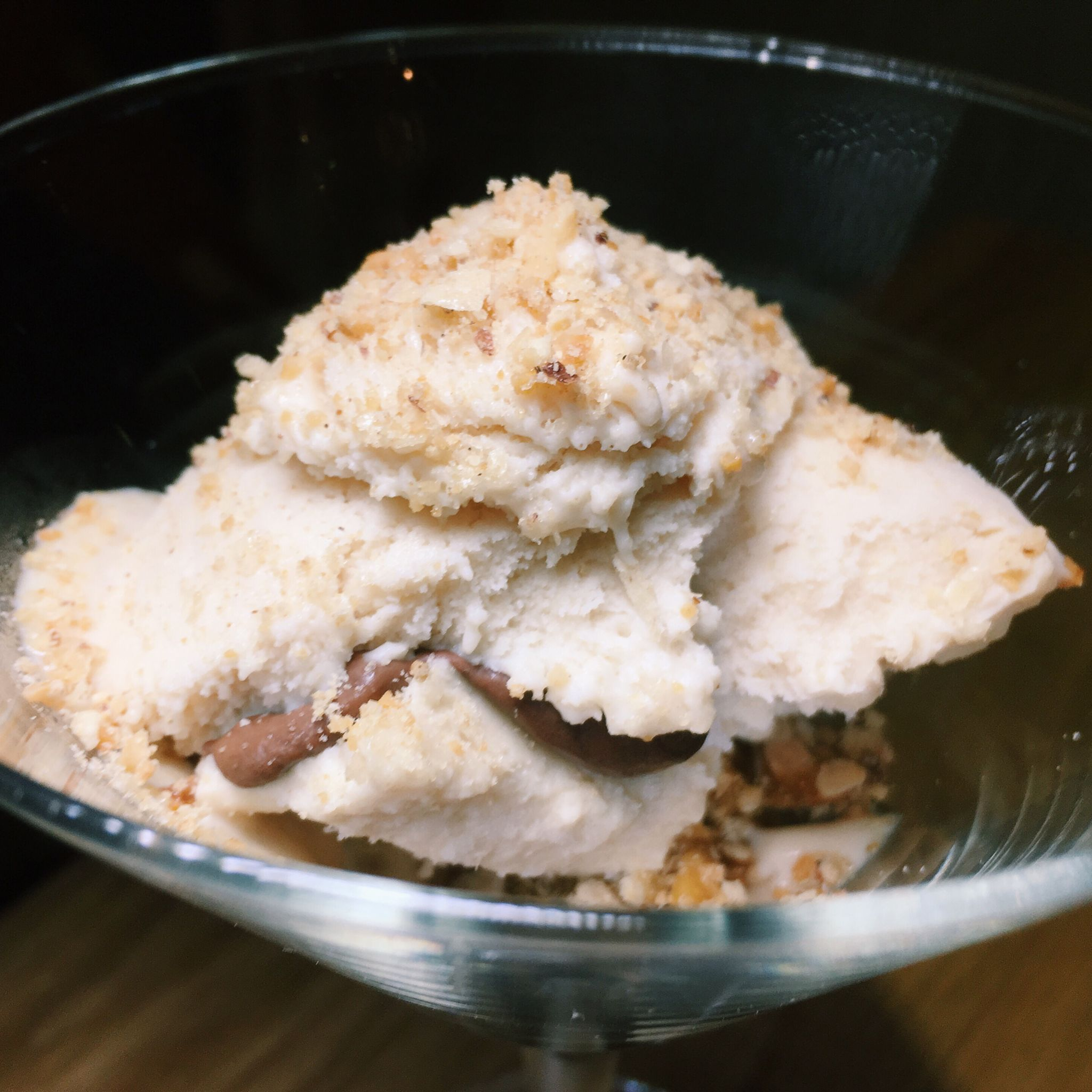 Gong Tng Chinese Peanut Candy with Peanut Butter Ice Cream - Wild Rocket