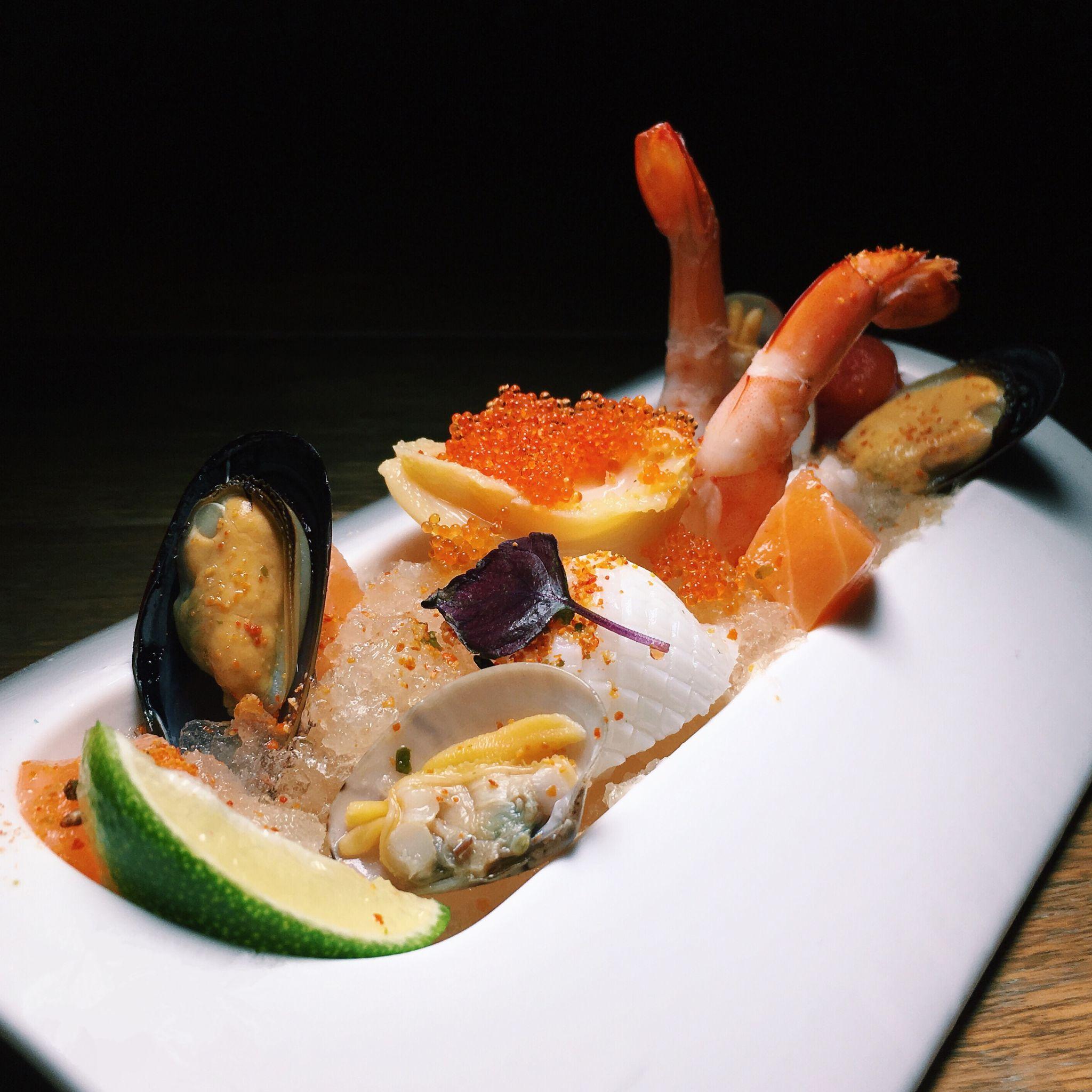Reinterpreted Seafood Tom Yum Goong On Ice - The East Bureau