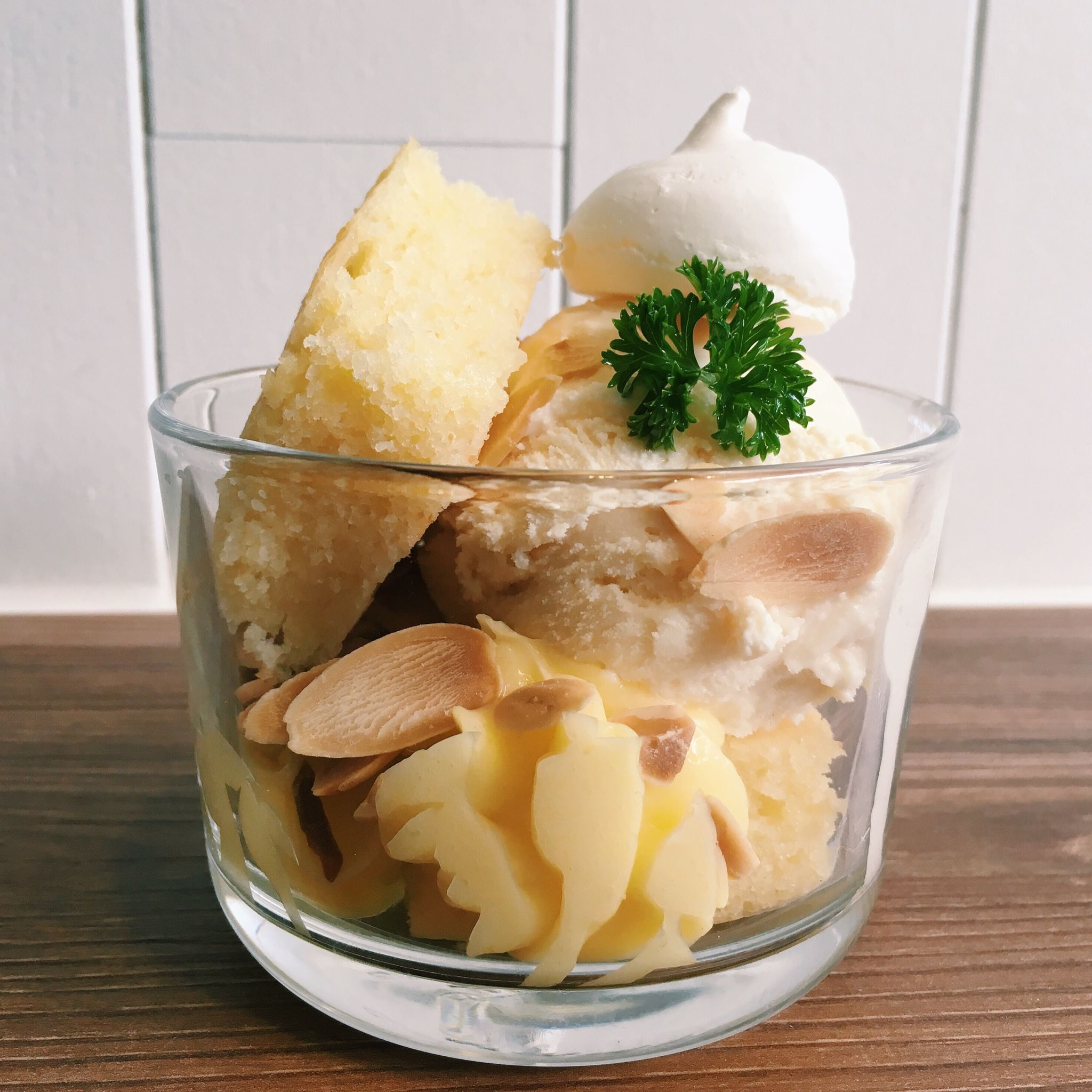 Lemon Meringue Sundae - Bao Makers