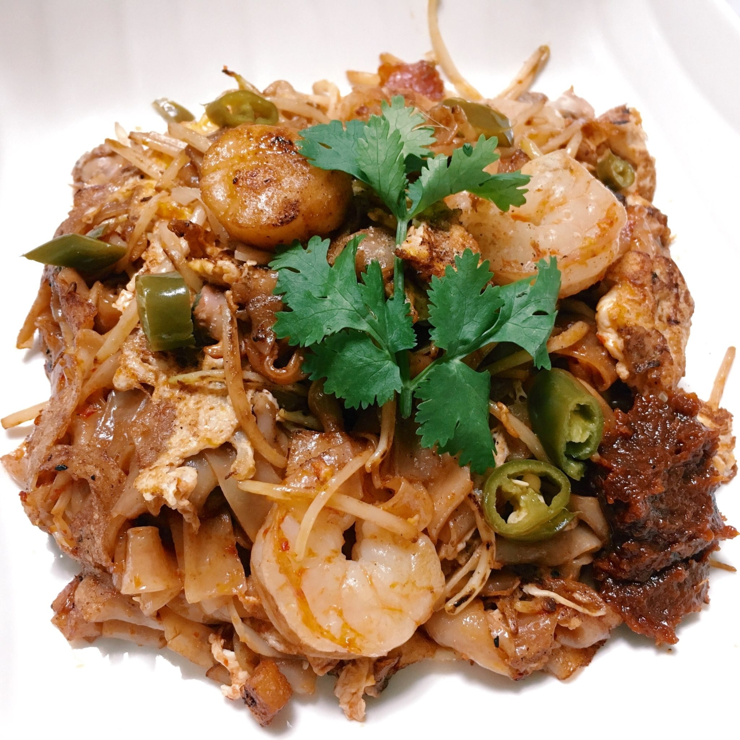 Traditional Char Kway Teow - Big Street