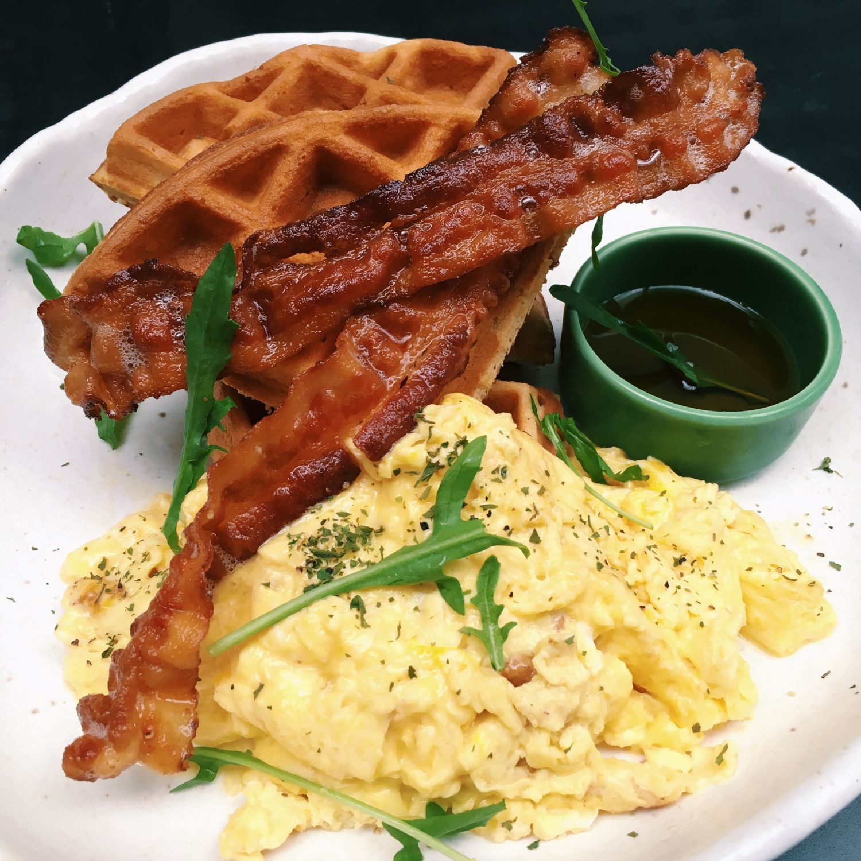 Savoury Waffles - 20F Specialty Coffeehouse