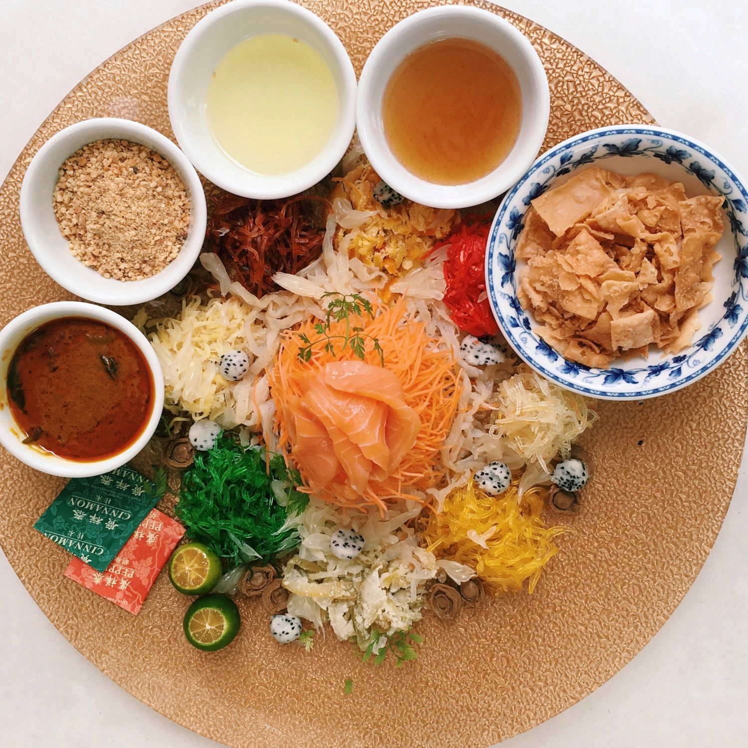 Glorious Prosperity Yu Sheng with Baby Abalone - Indocafe