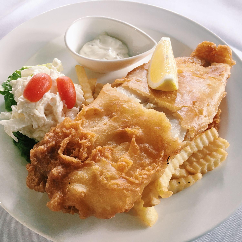 Fish & Chips - TICM Gelato Cocktail Bar + Dining