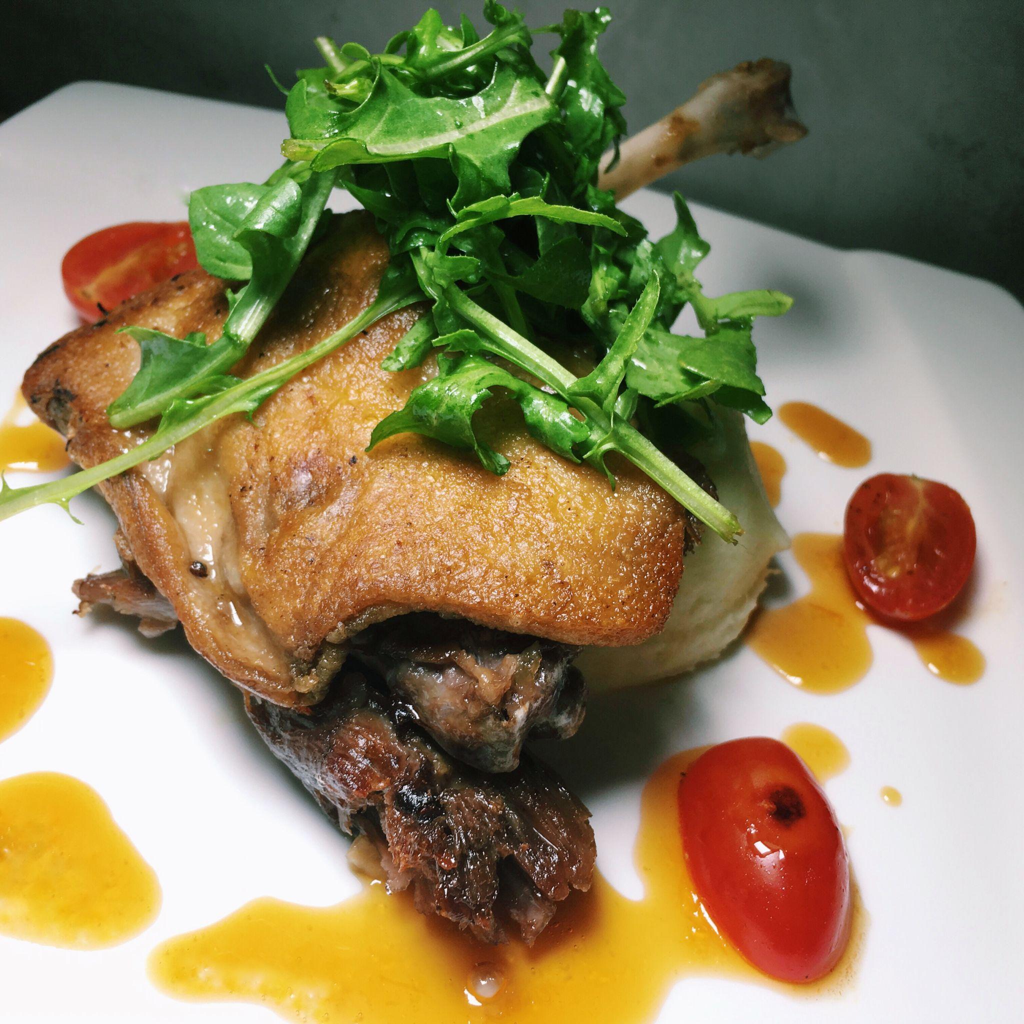 Duck Confit - The Larder Cafe