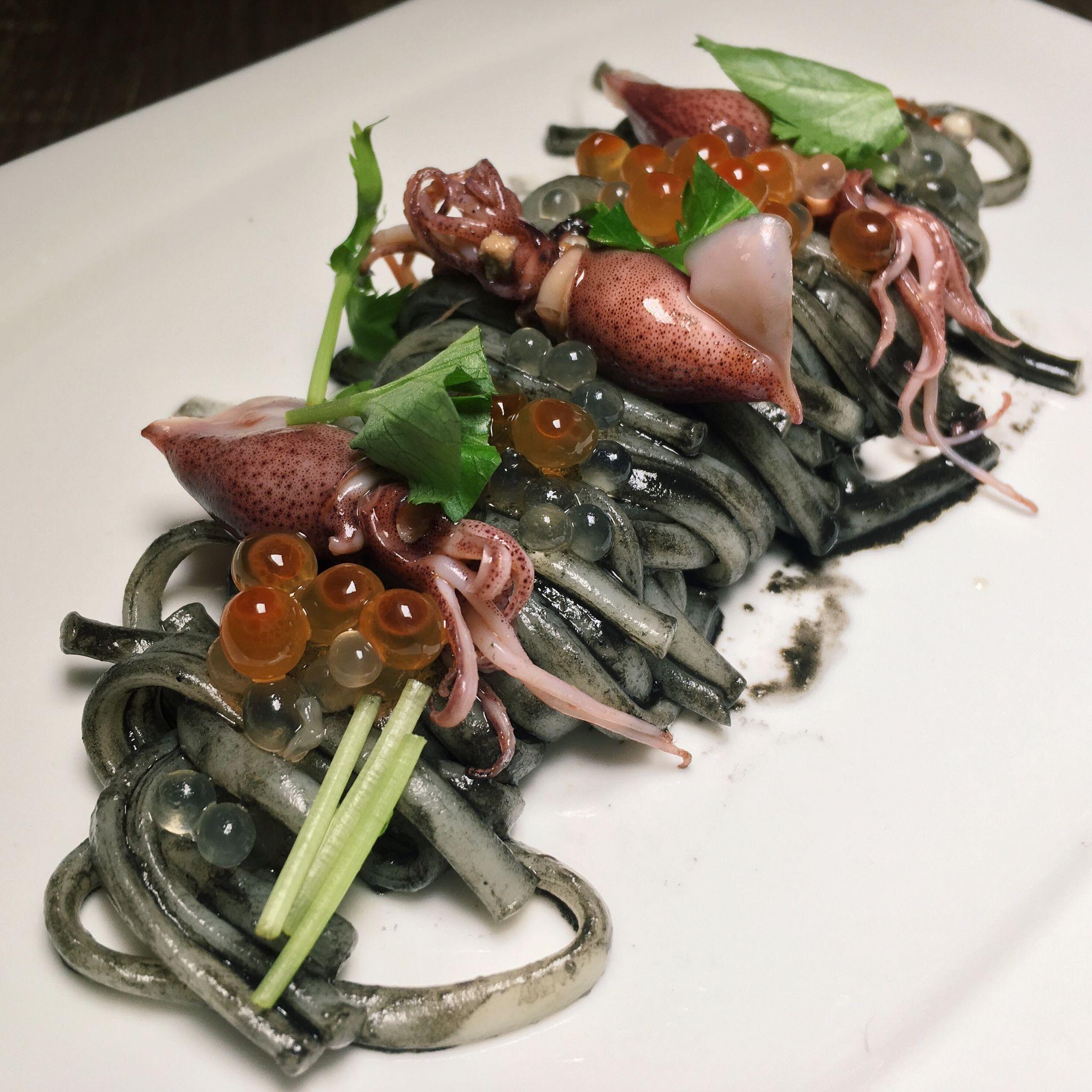 Squid Ink Udon - Boruto Singapore