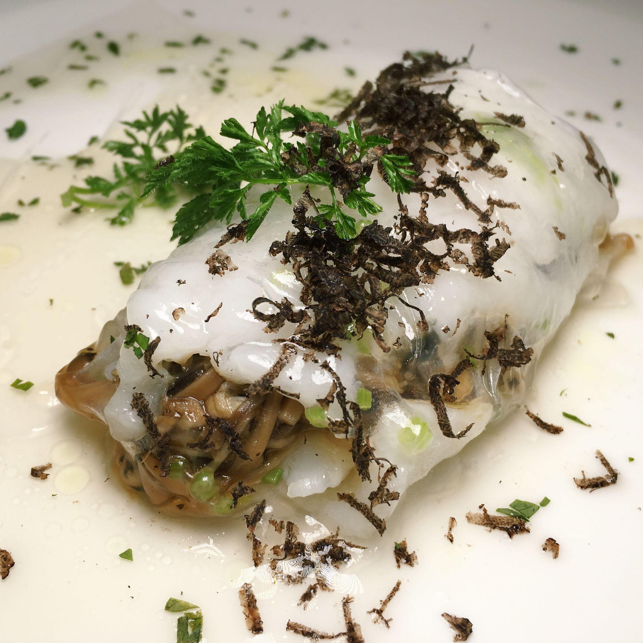 Steamed Cod in Paper Roll - Jiang-Nan Chun