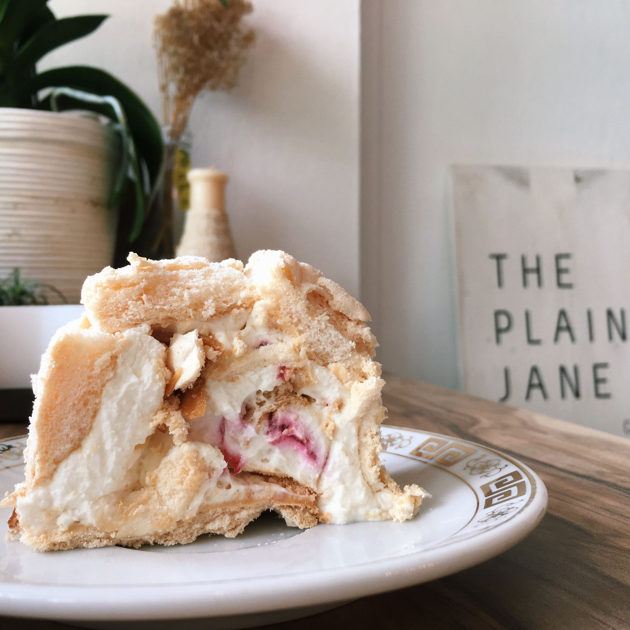 Meringue Roll - The Plain Jane