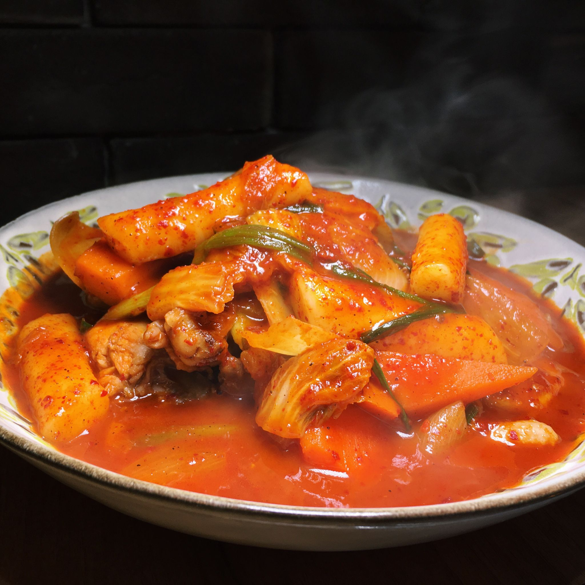 Spicy Roast Chicken Stew - What's This Korean Restaurant
