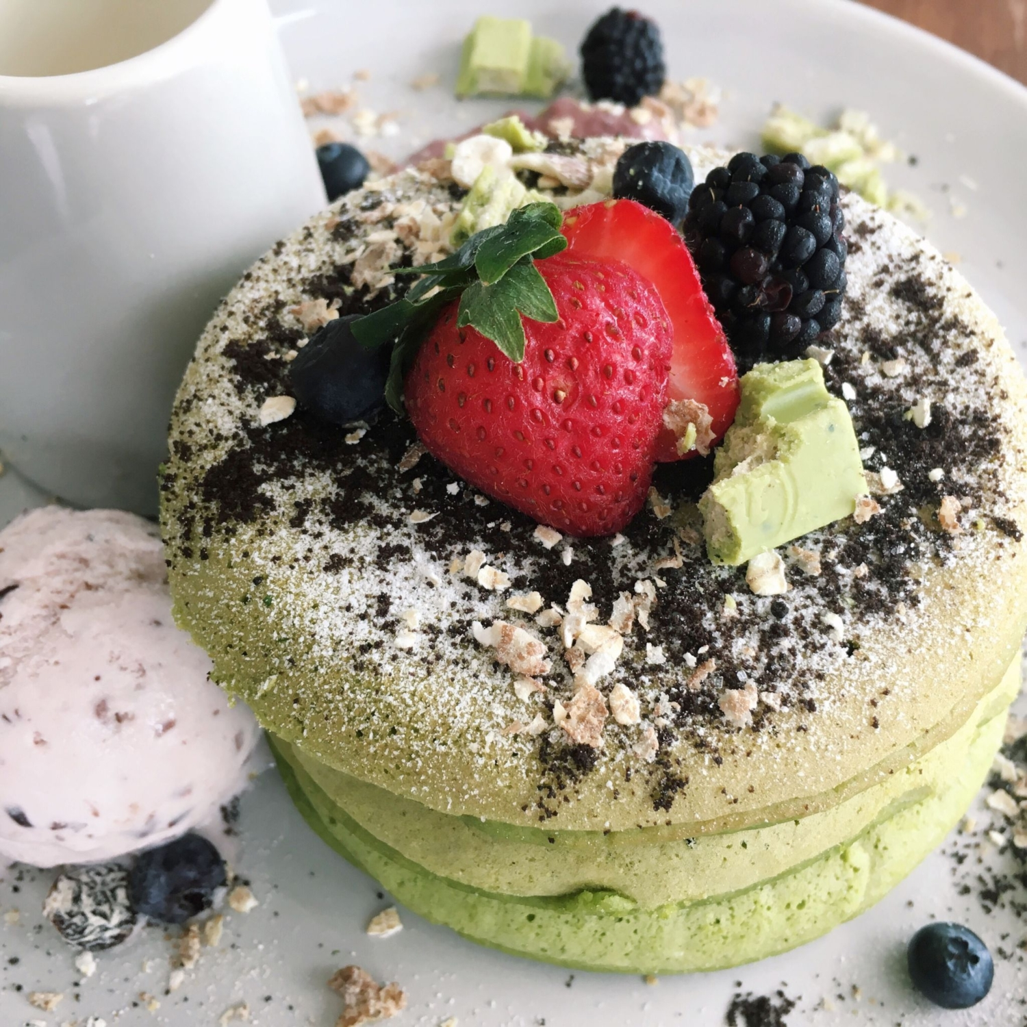 Matcha Pancake - Pacamara Boutique Coffee Roasters
