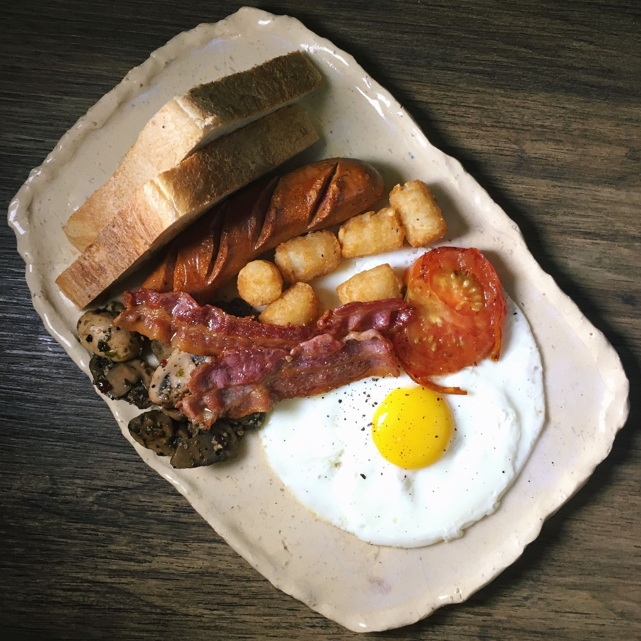 British Breakfast Platter - The Clueless Goat
