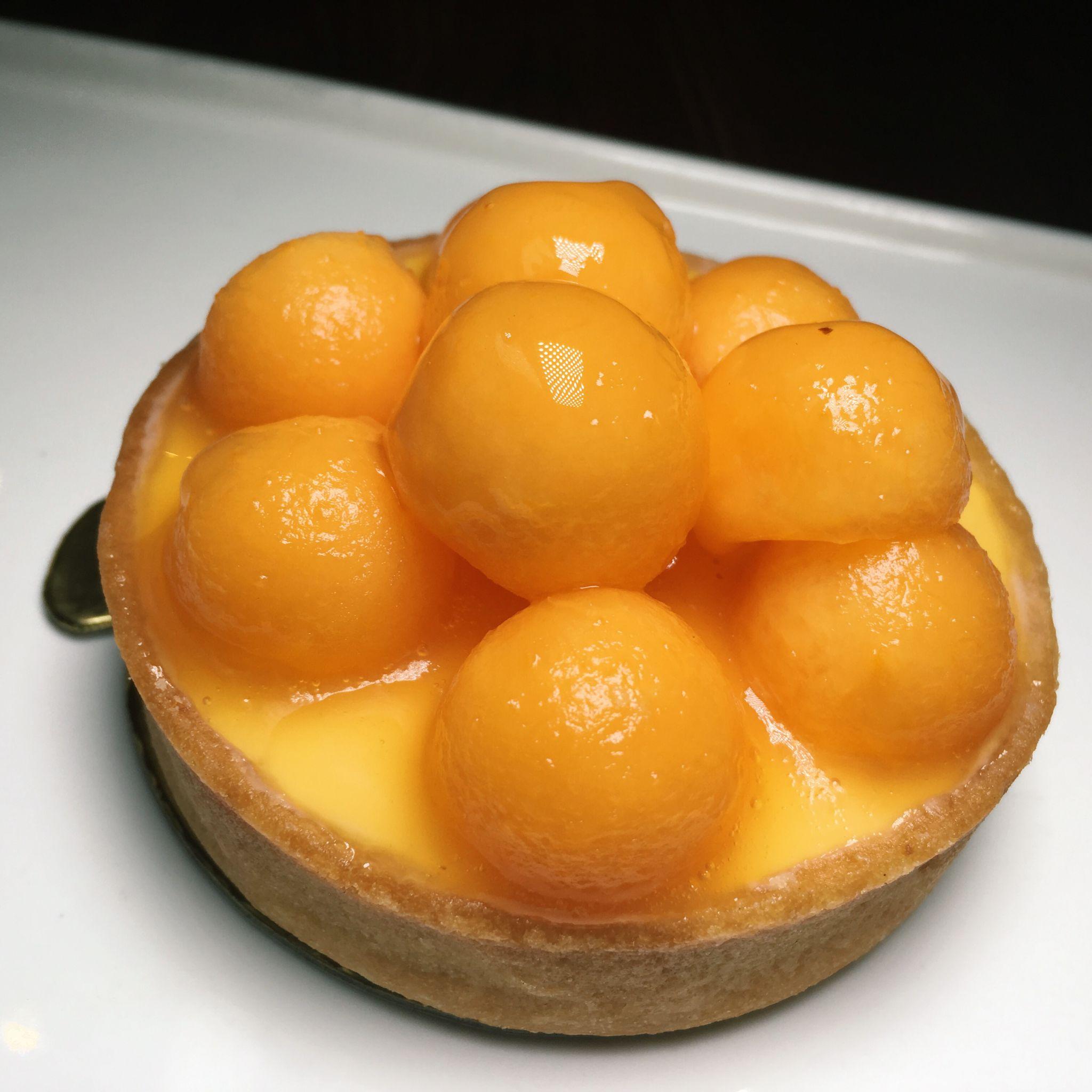 Cavaillon Melon - Tarte by Cheryl Koh