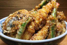 Tendon Spicy Flavour - Tempura Kohaku