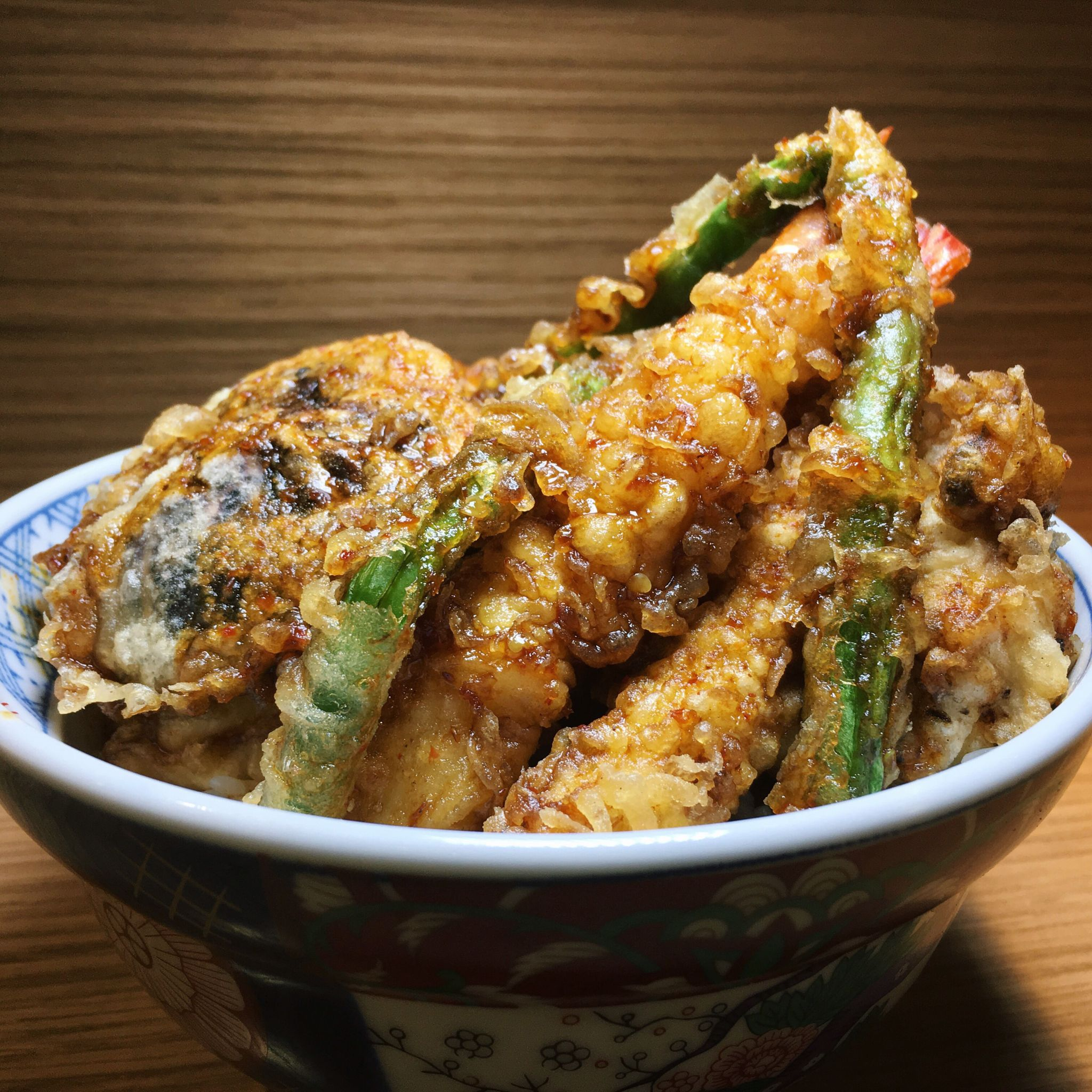 Tendon Spicy Flavour - Tempura Kohaku
