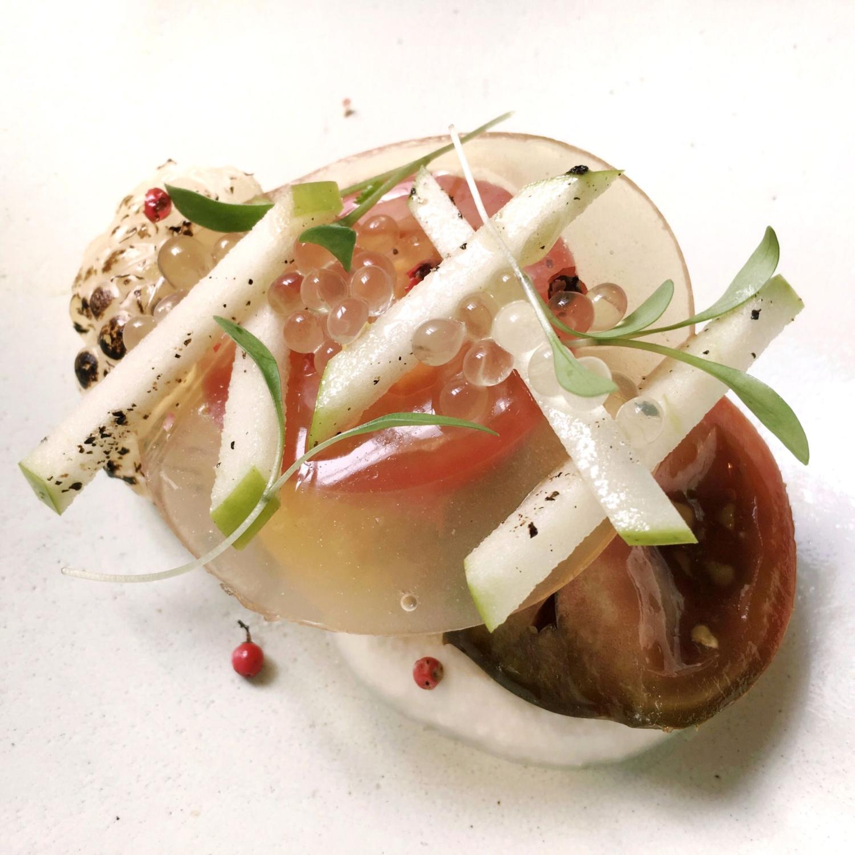Heirloom Tomatoes - Rhubarb Le Restaurant