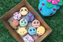 Pokémon Character Macarons - Bonheur Patisserie