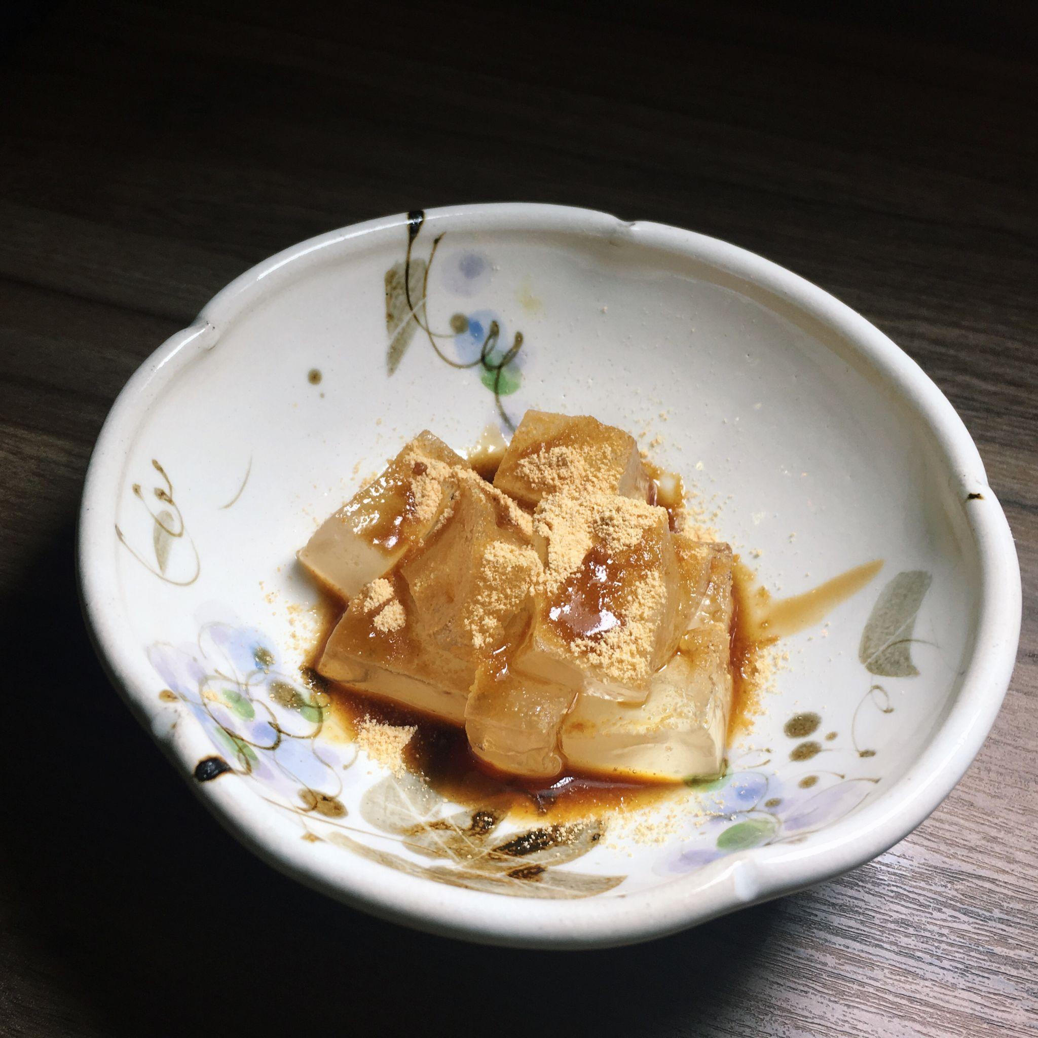 Warabi Mochi - Zipang Japanese Dining Bar