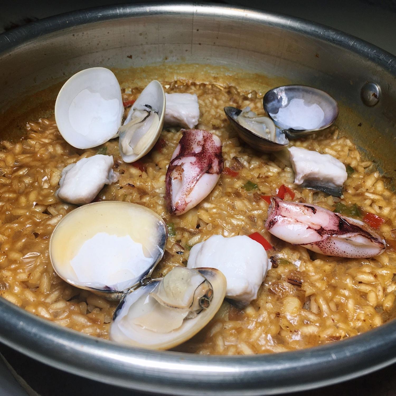 Seafood Paella - Gaig Singapore