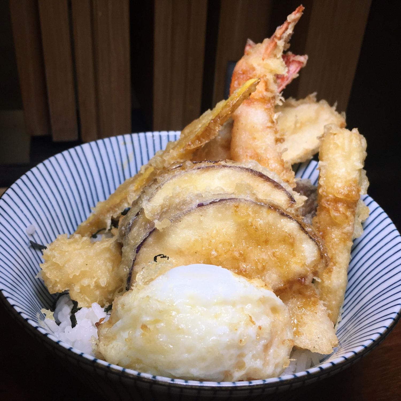 Special Tempura Don - Kimoto Gastro Bar
