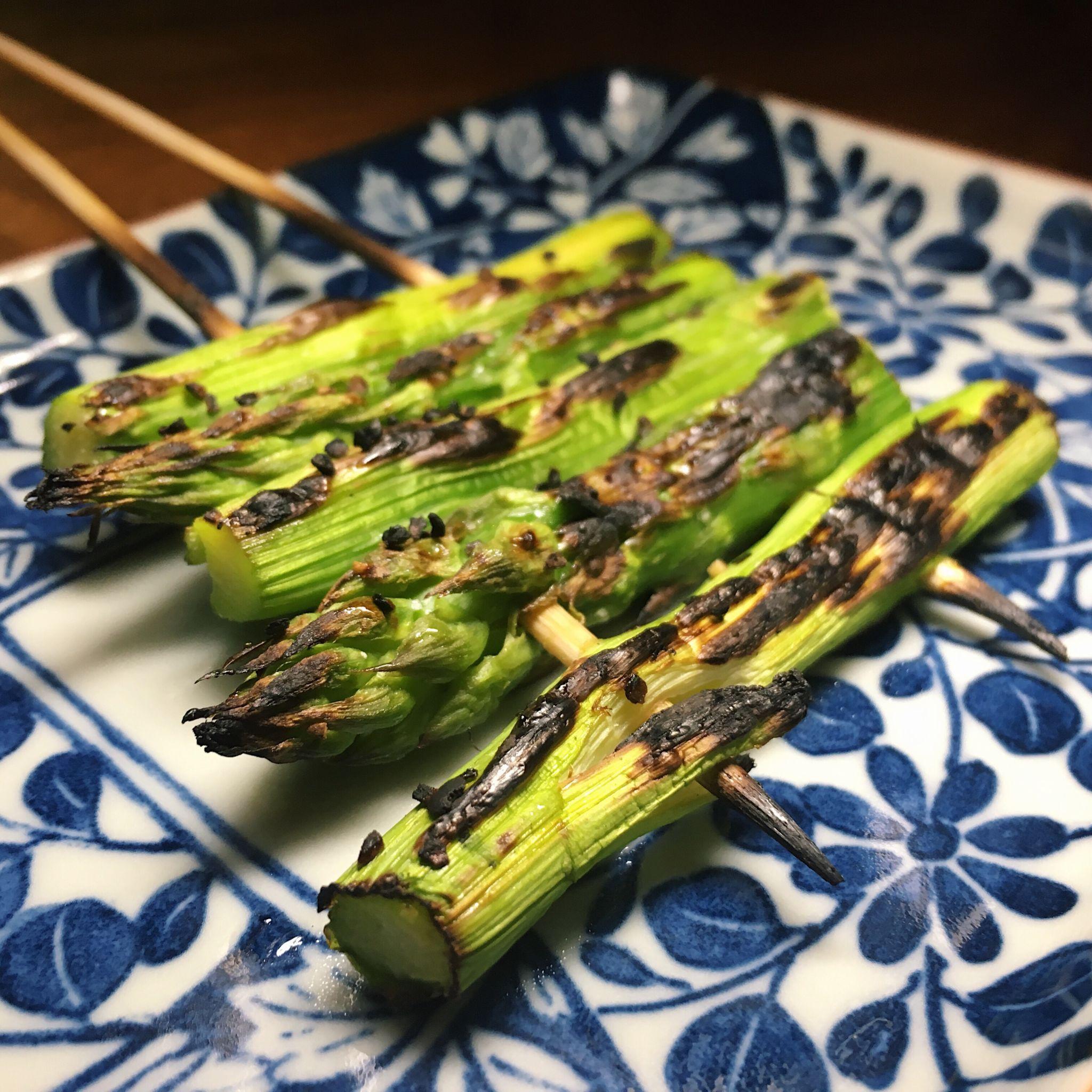 Asparagus Kushiyaki - Kimoto Gastro Bar