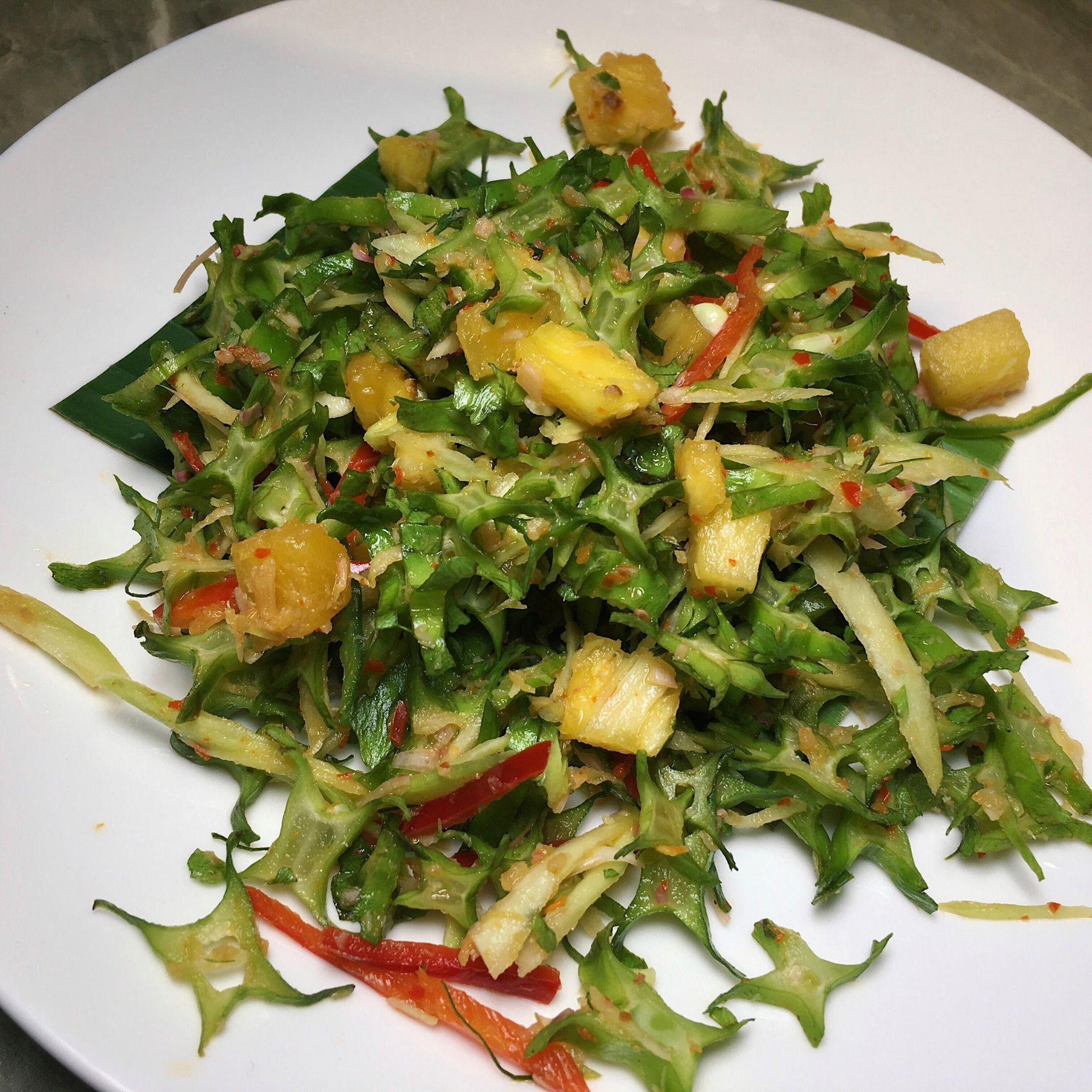 4 Angled Bean Salad - Folklore