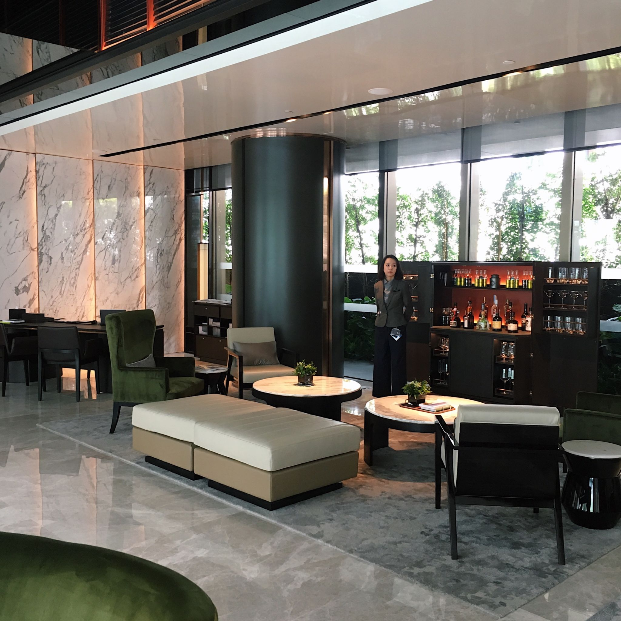Quayside Lounge - InterContinental Singapore Robertson Quay