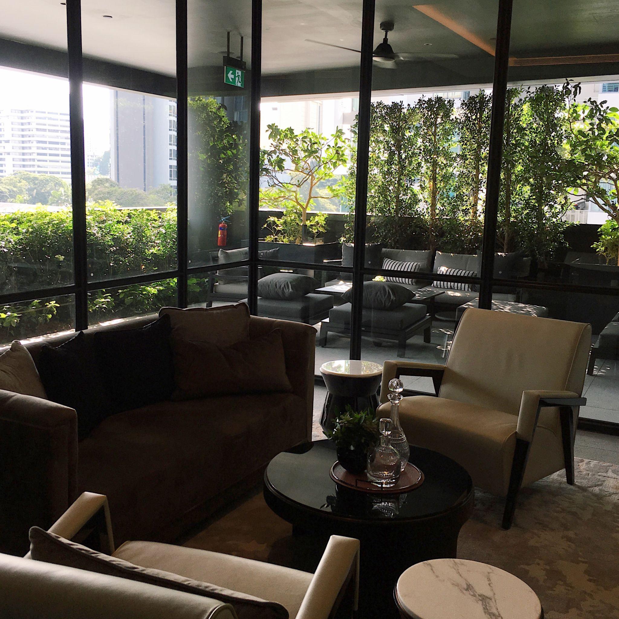 Club InterContinental Lounge - nterContinental Singapore Robertson Quay