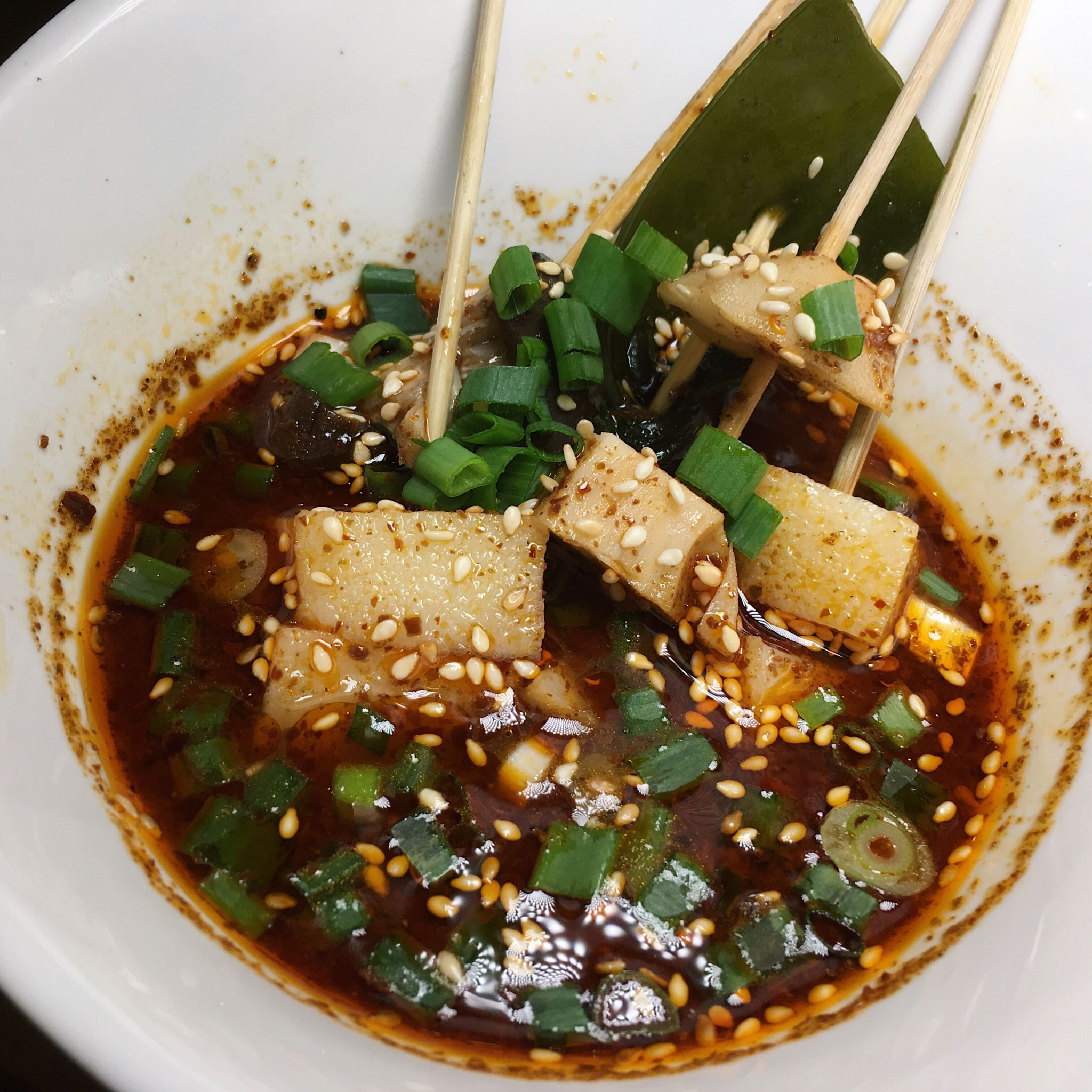 Skewers in Sichuan Sauce - Sichuan Kungfu Fish Singapore
