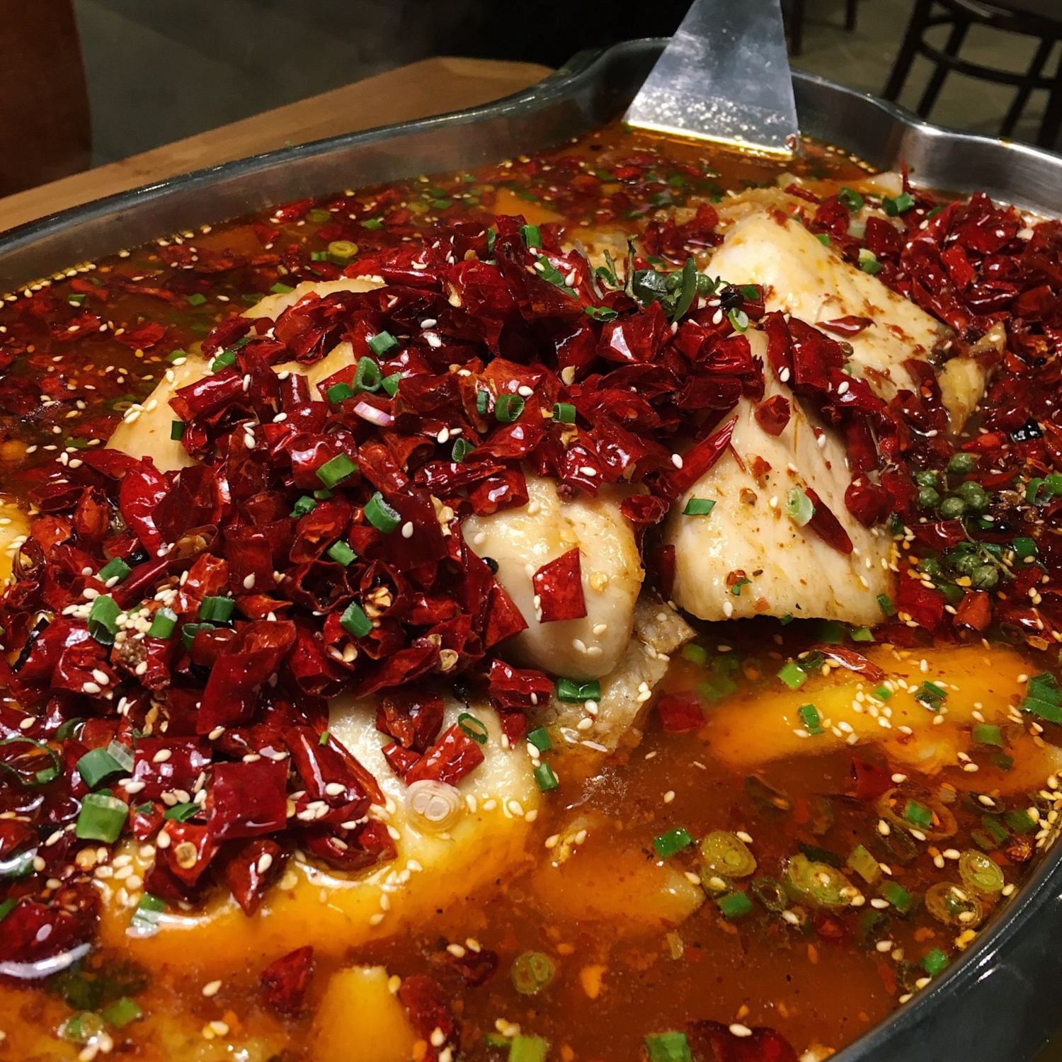 Cod in Mala Sauce - Skewers in Sichuan Sauce - Sichuan Kungfu Fish Singapore