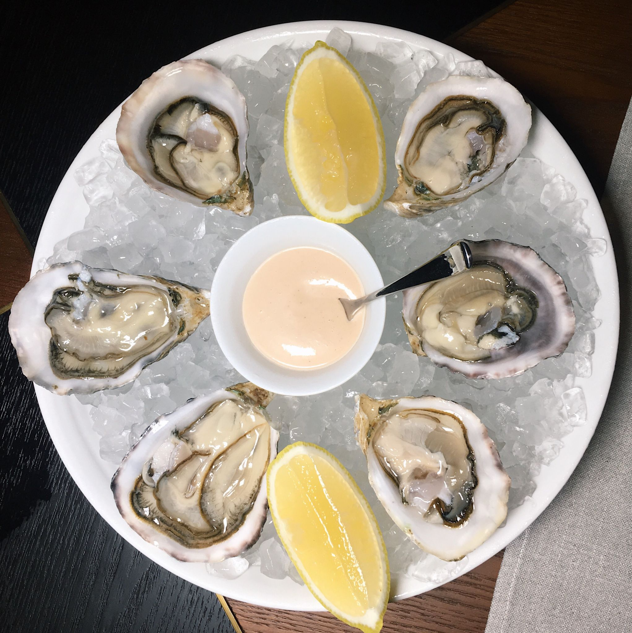 British Columbia Oysters - Origin Grill & Bar