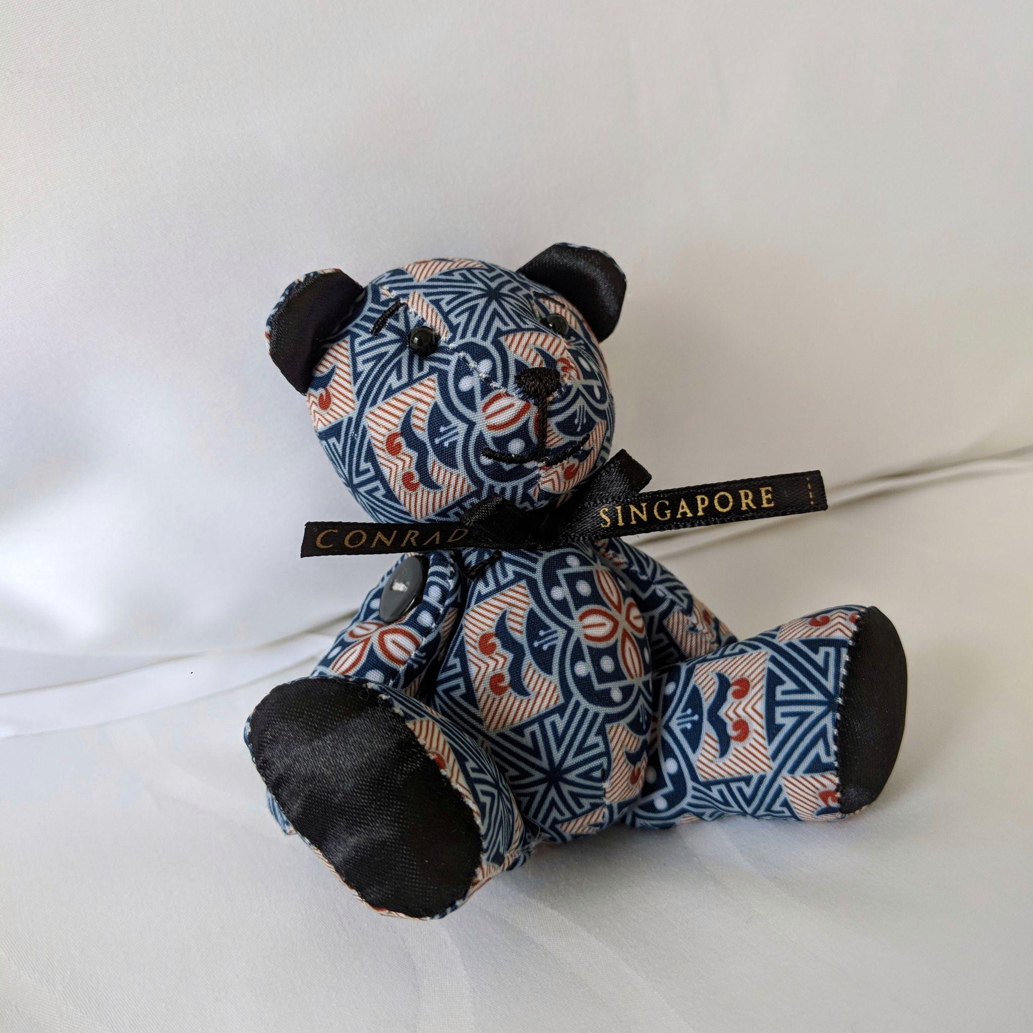 conrad centennial singapore mascot bear