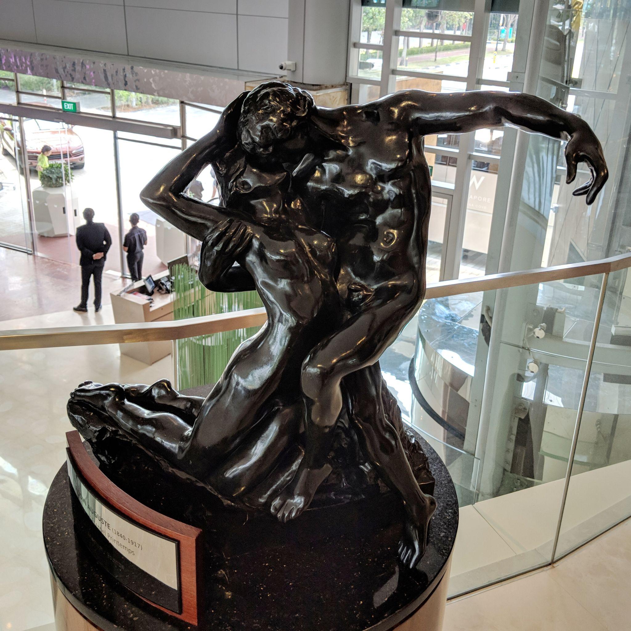 w singapore sculpture