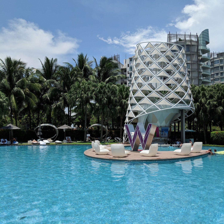 w singapore pool wet bar