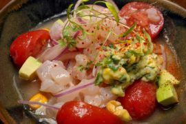 kinou restaurant red snapper ceviche