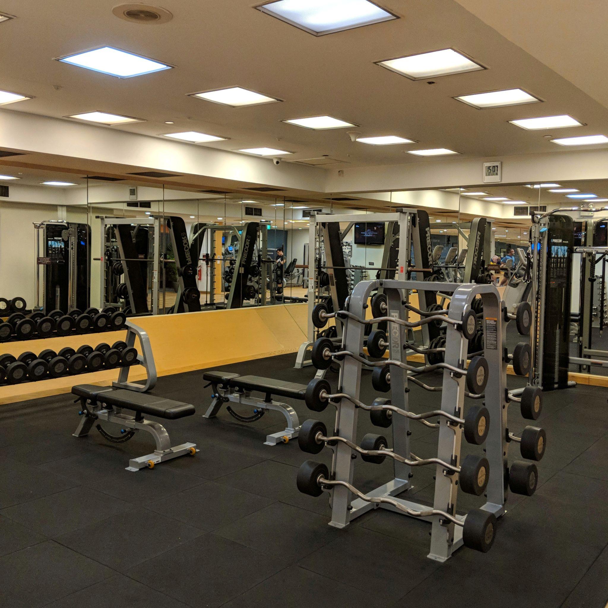 hilton singapore gym