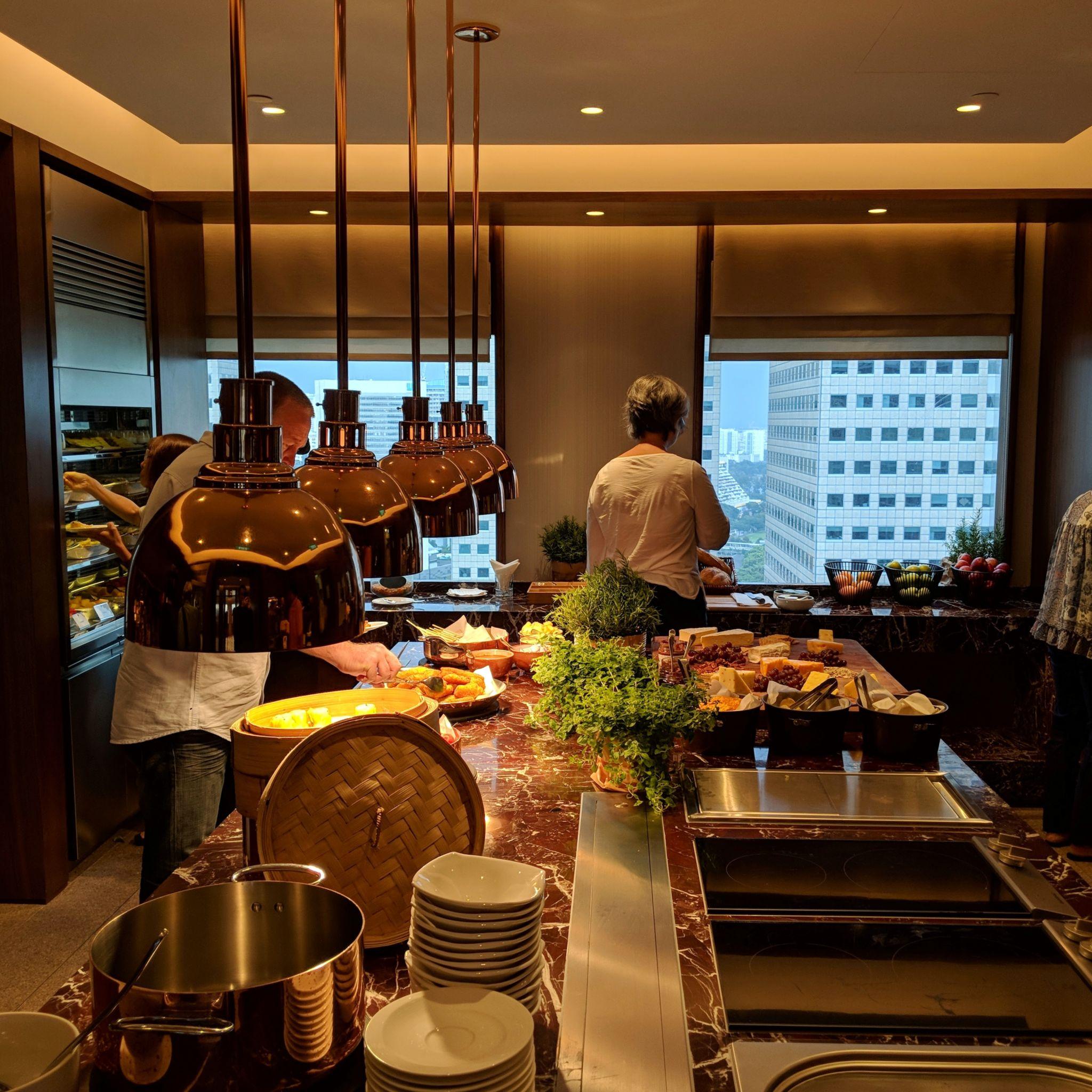 conrad centennial singapore executive lounge
