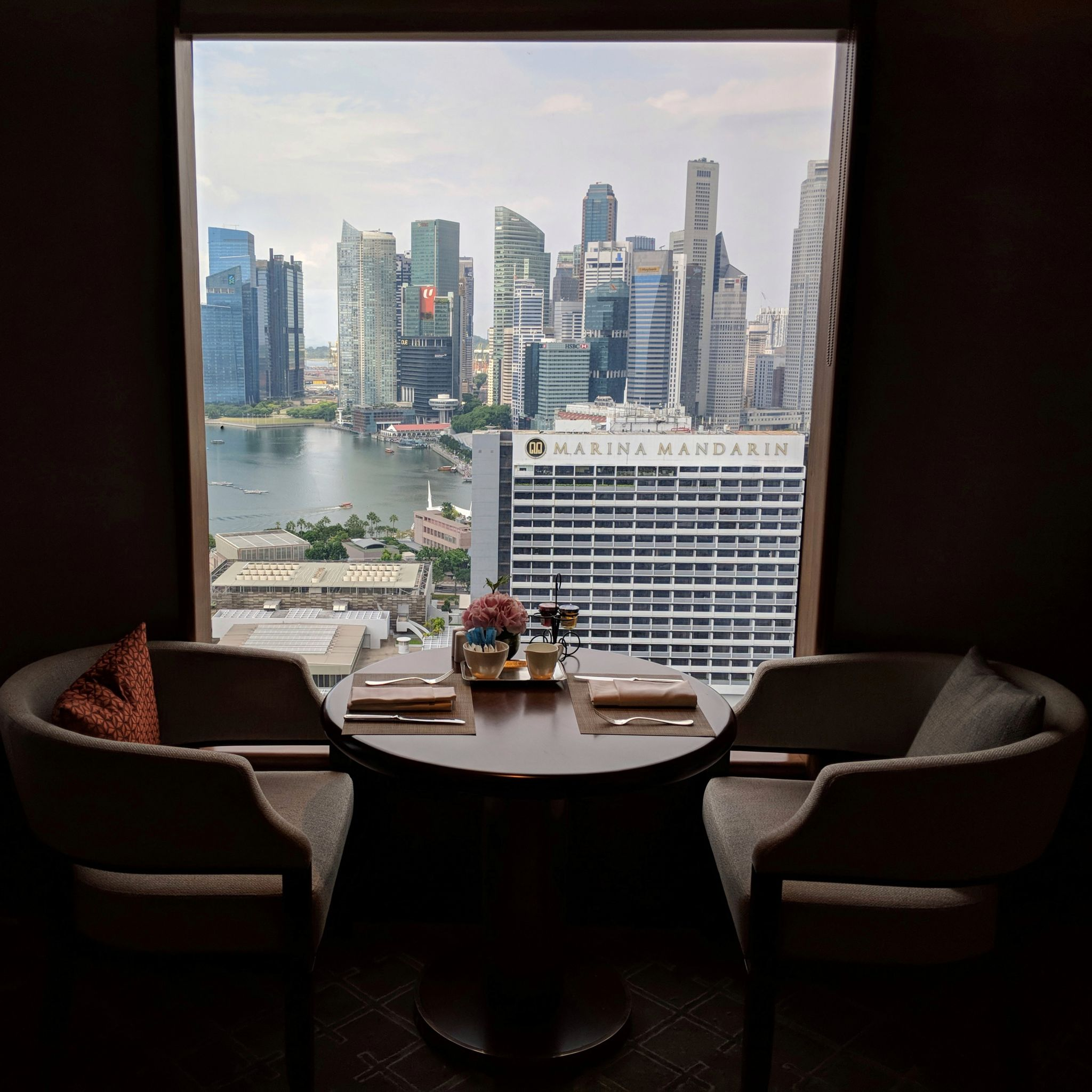 conrad centennial singapore executive lounge