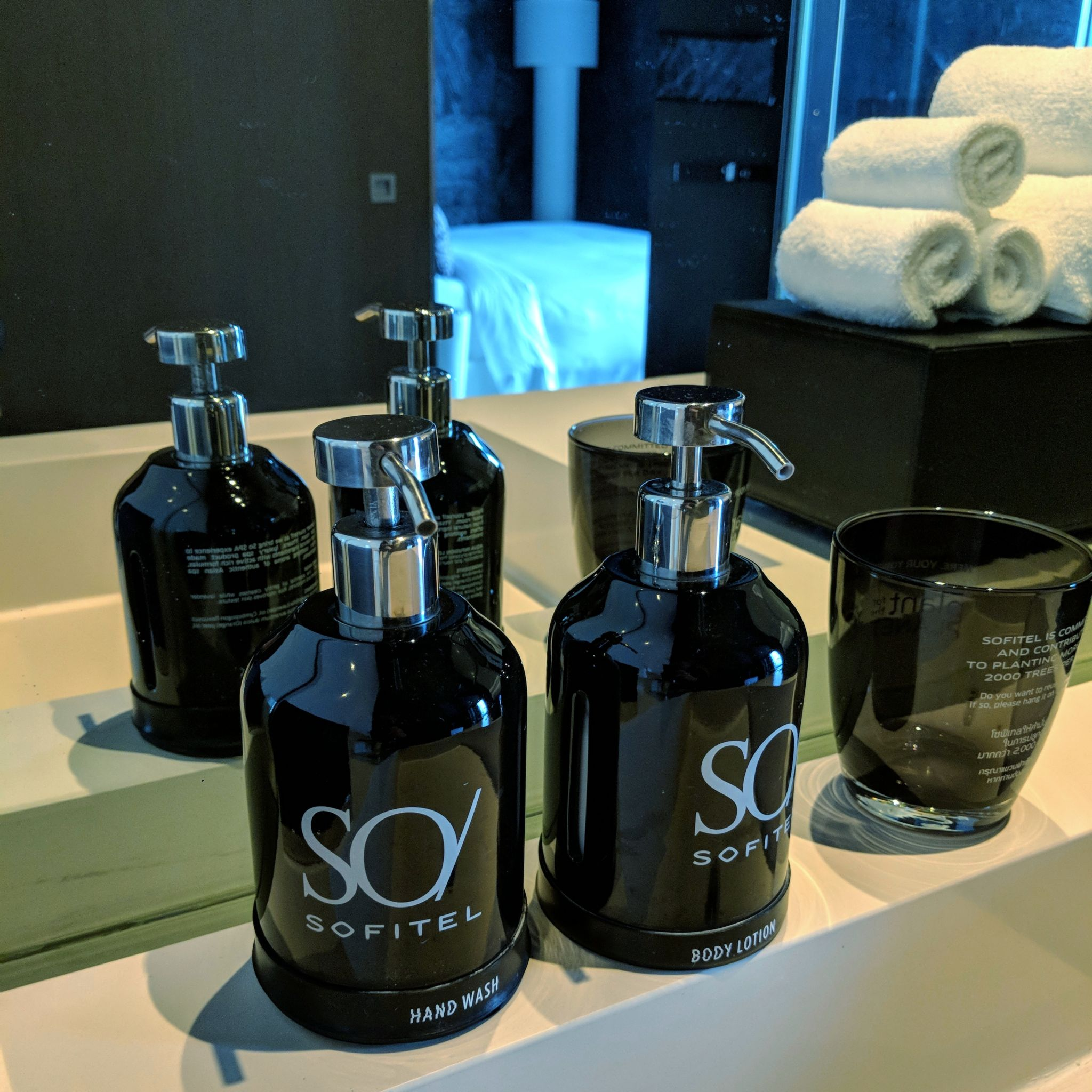 so sofitel bangkok so suite ytsara amenities