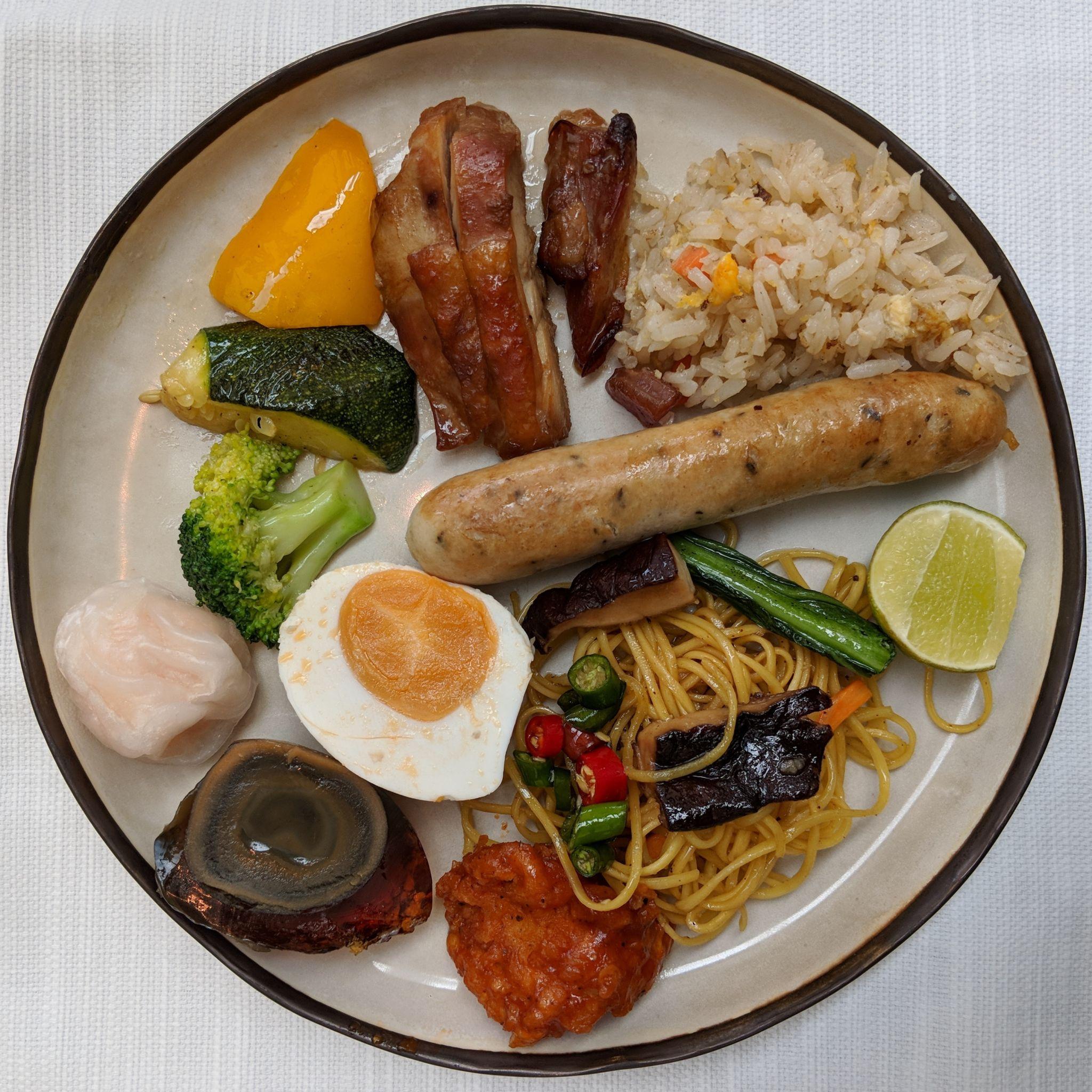 park hyatt bangkok the embassy room breakfast