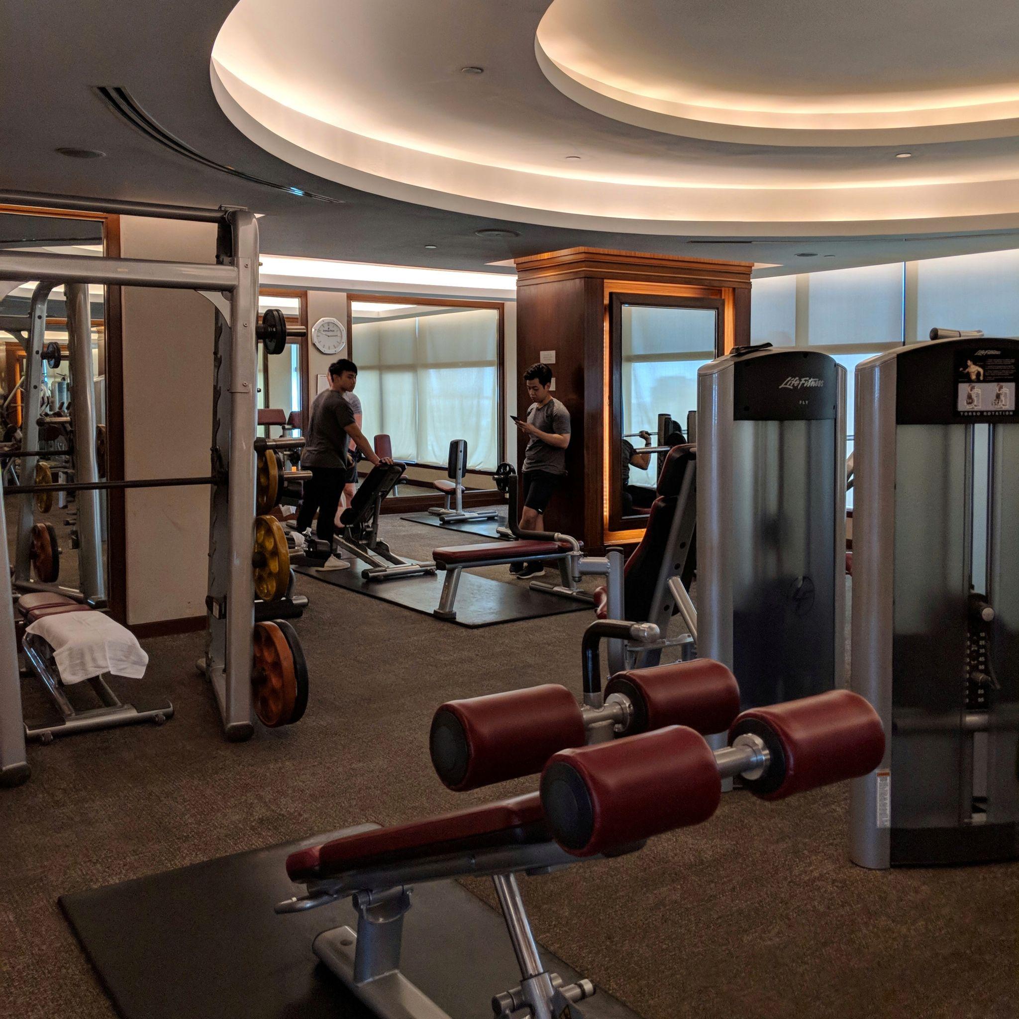 intercontinental bangkok gym