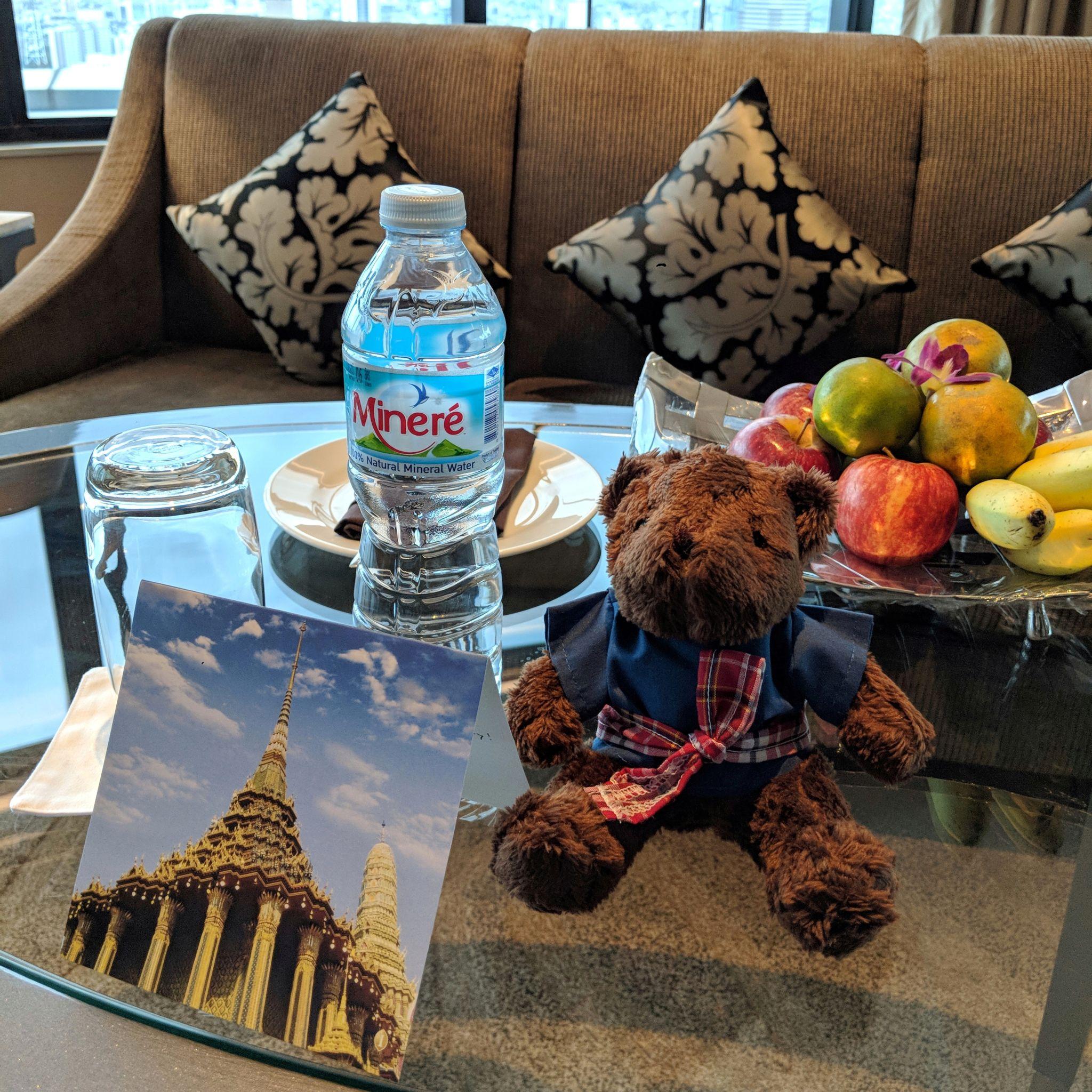 intercontinental bangkok ambassador gift