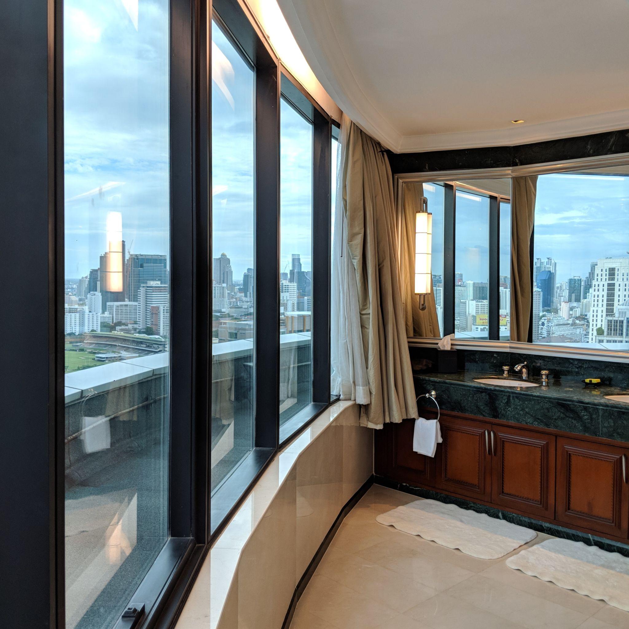 intercontinental bangkok ambassador suite bathroom