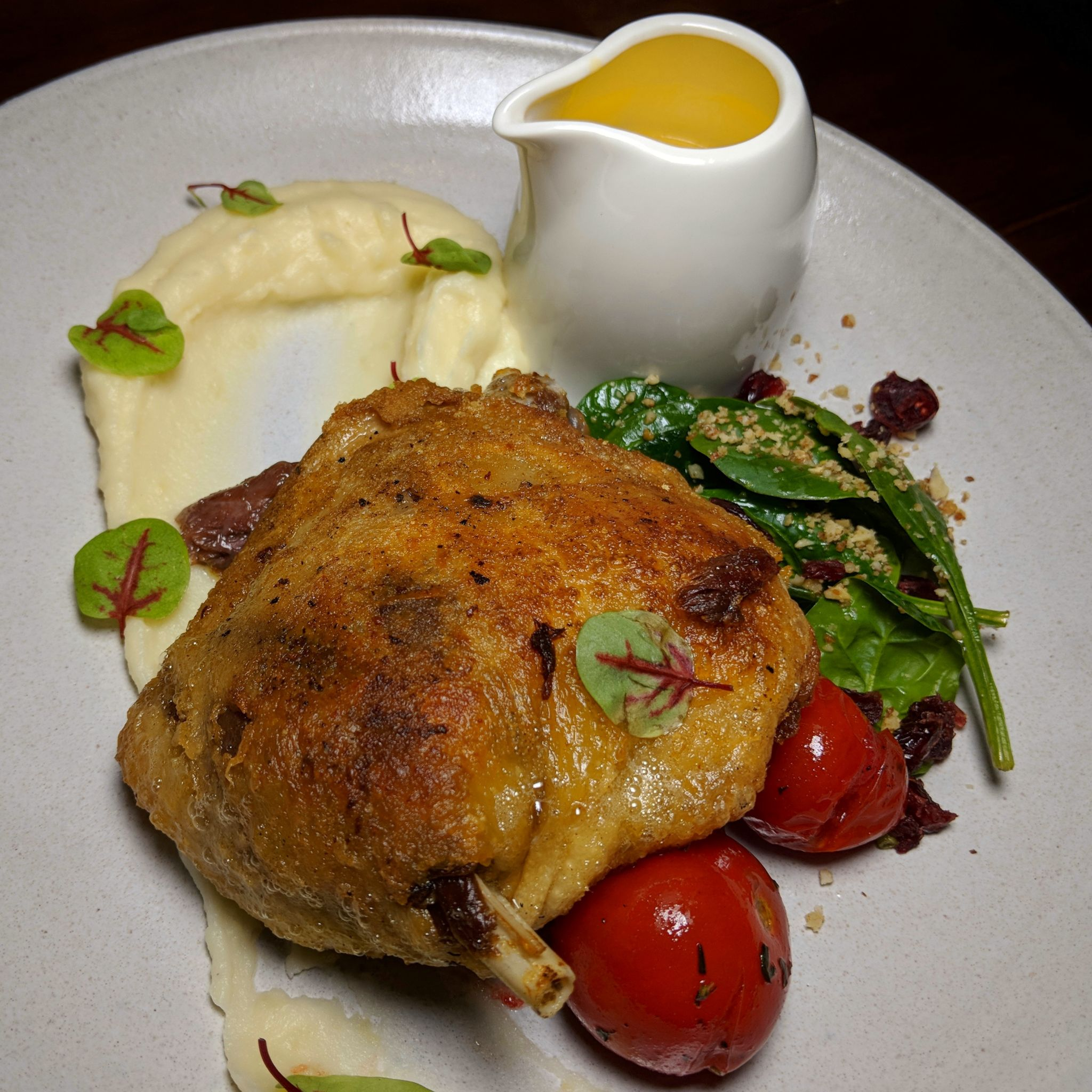 the cooperage duck confit