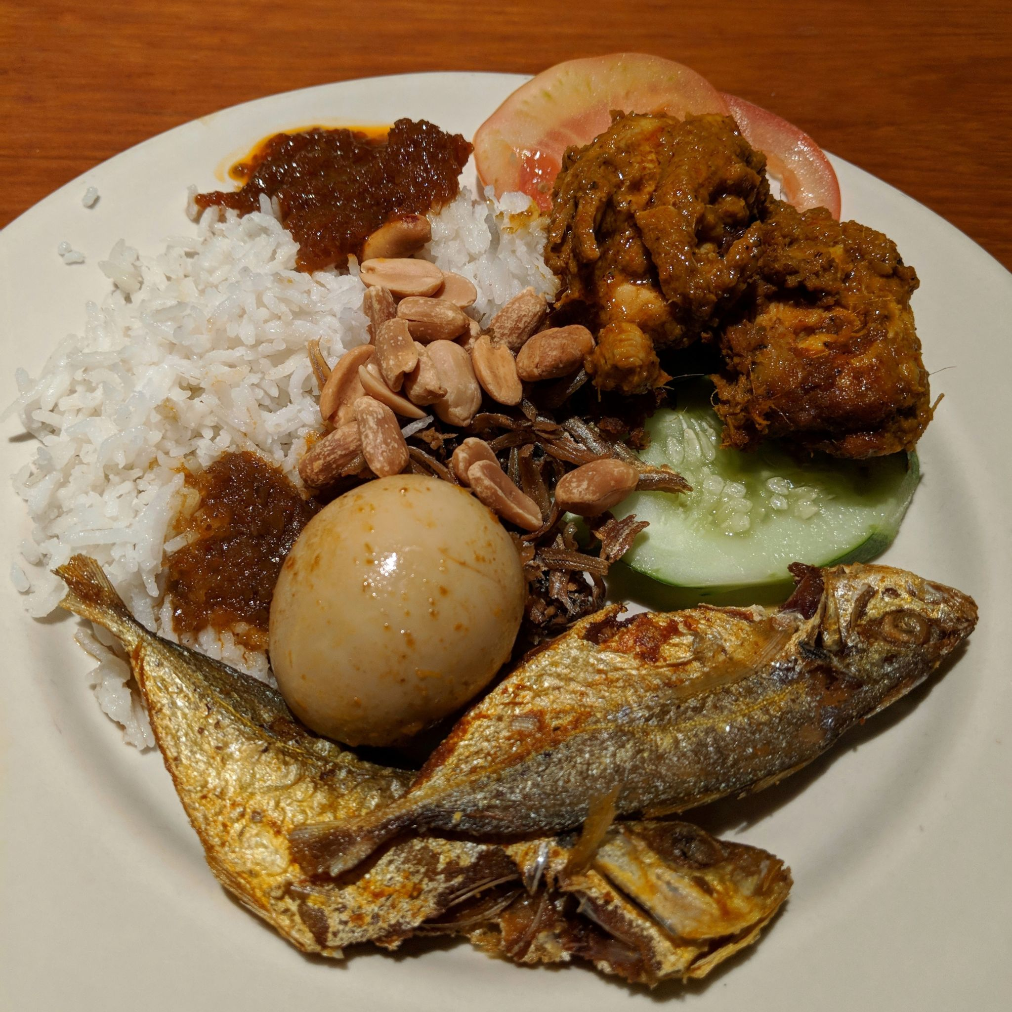 grand hyatt singapore straits kitchen breakfast nasi lemak