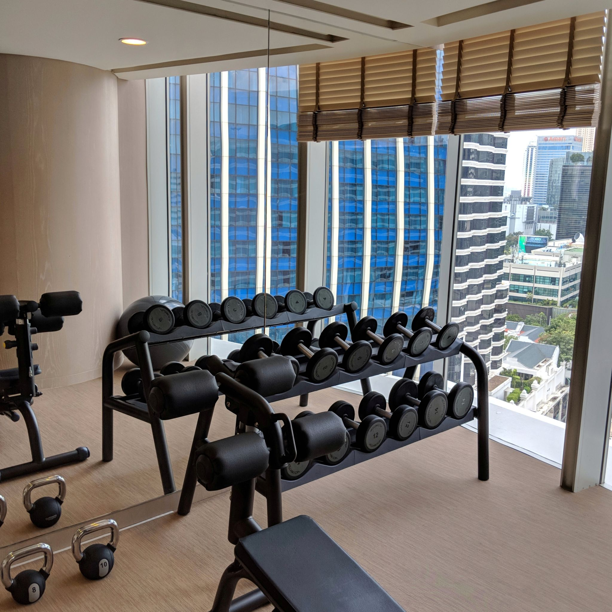 waldorf astoria bangkok gym