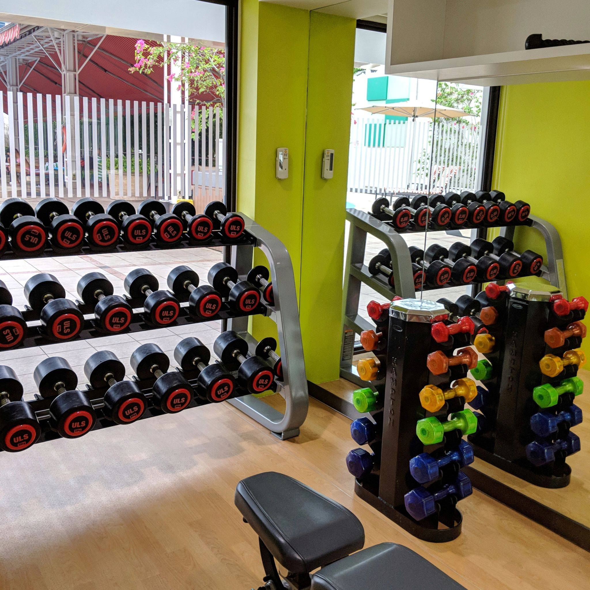 holiday inn singapore orchard city centre gym
