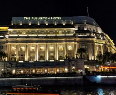 the fullerton hotel singapore singapore river