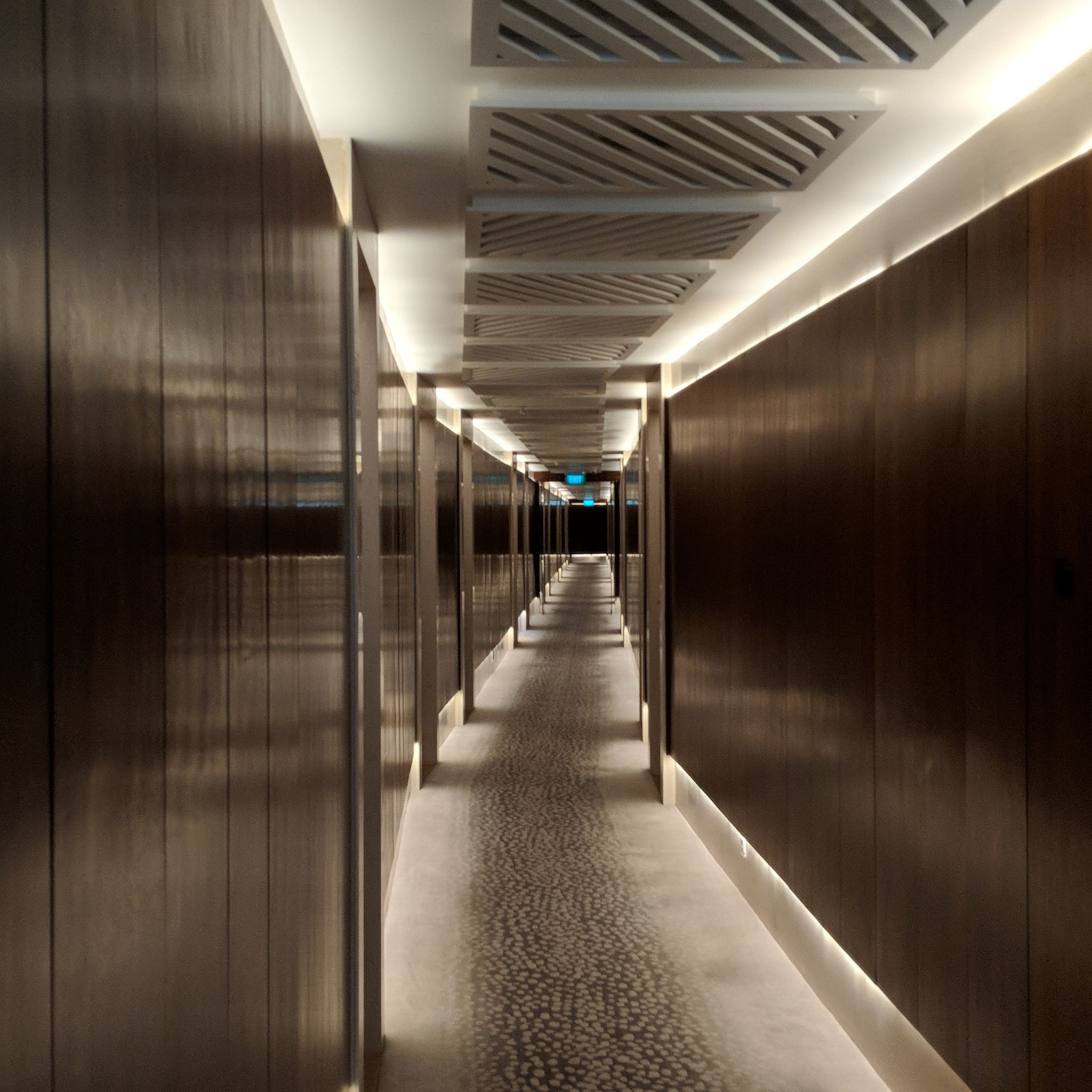 The Capitol Kempinski Hotel Singapore hallway