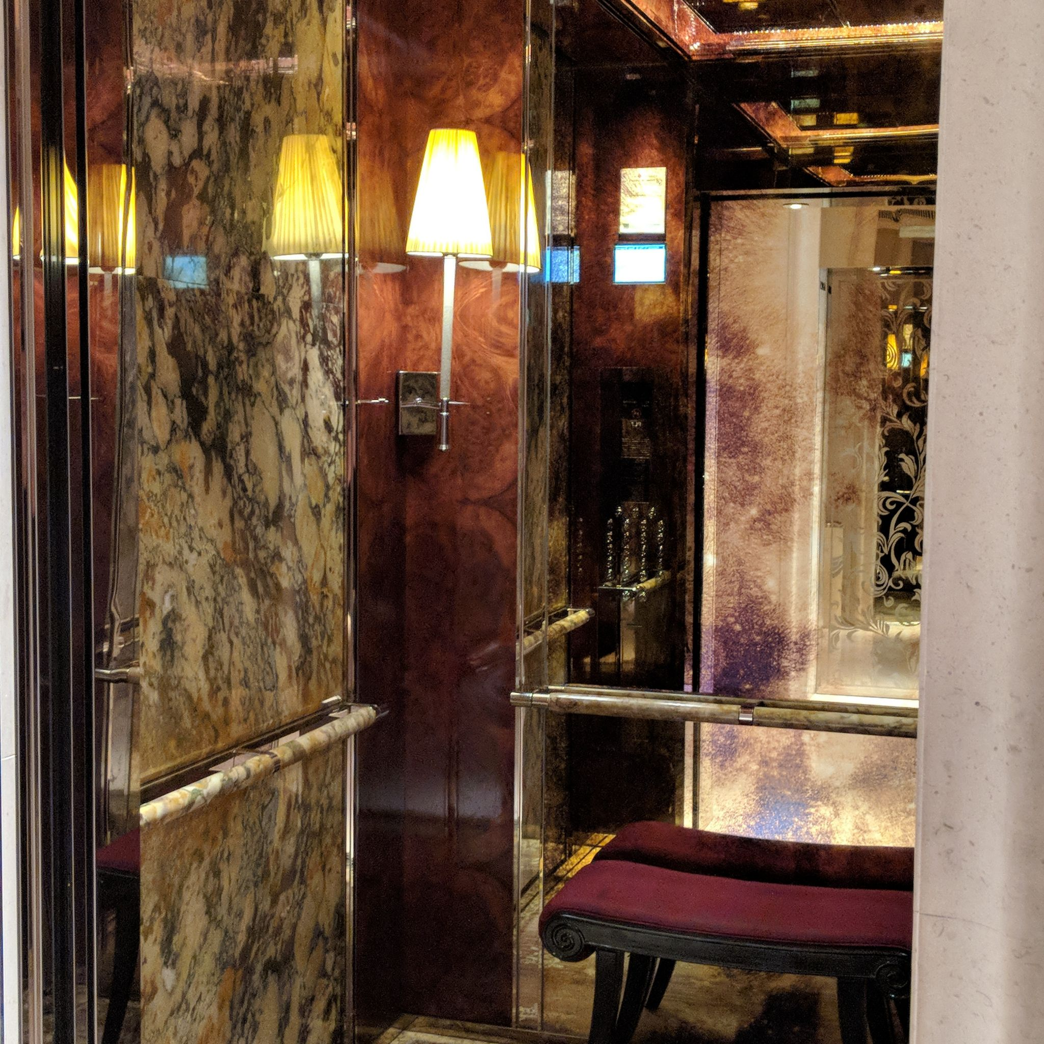 the st. regis singapore elevator