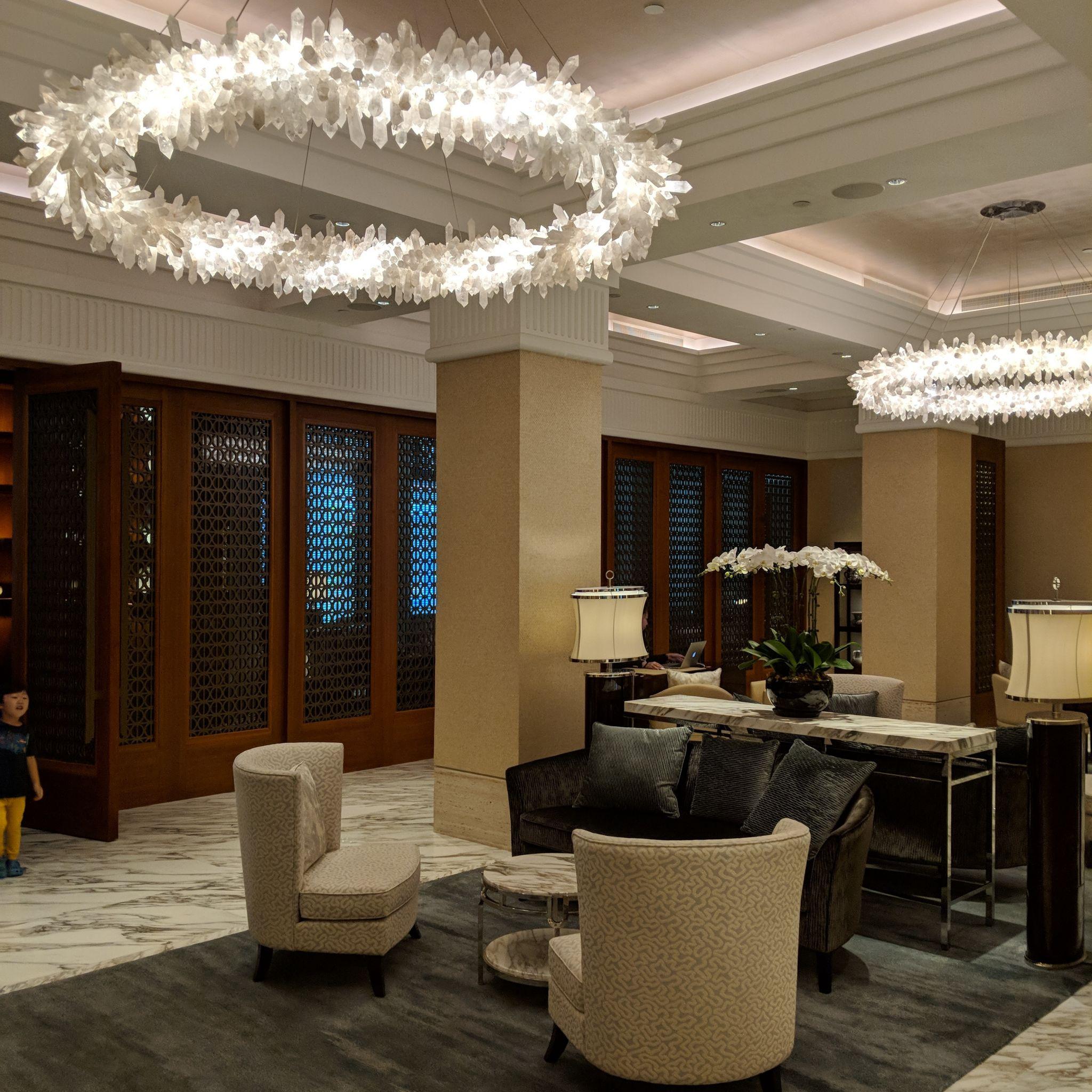 The Capitol Kempinski Hotel Singapore lobby