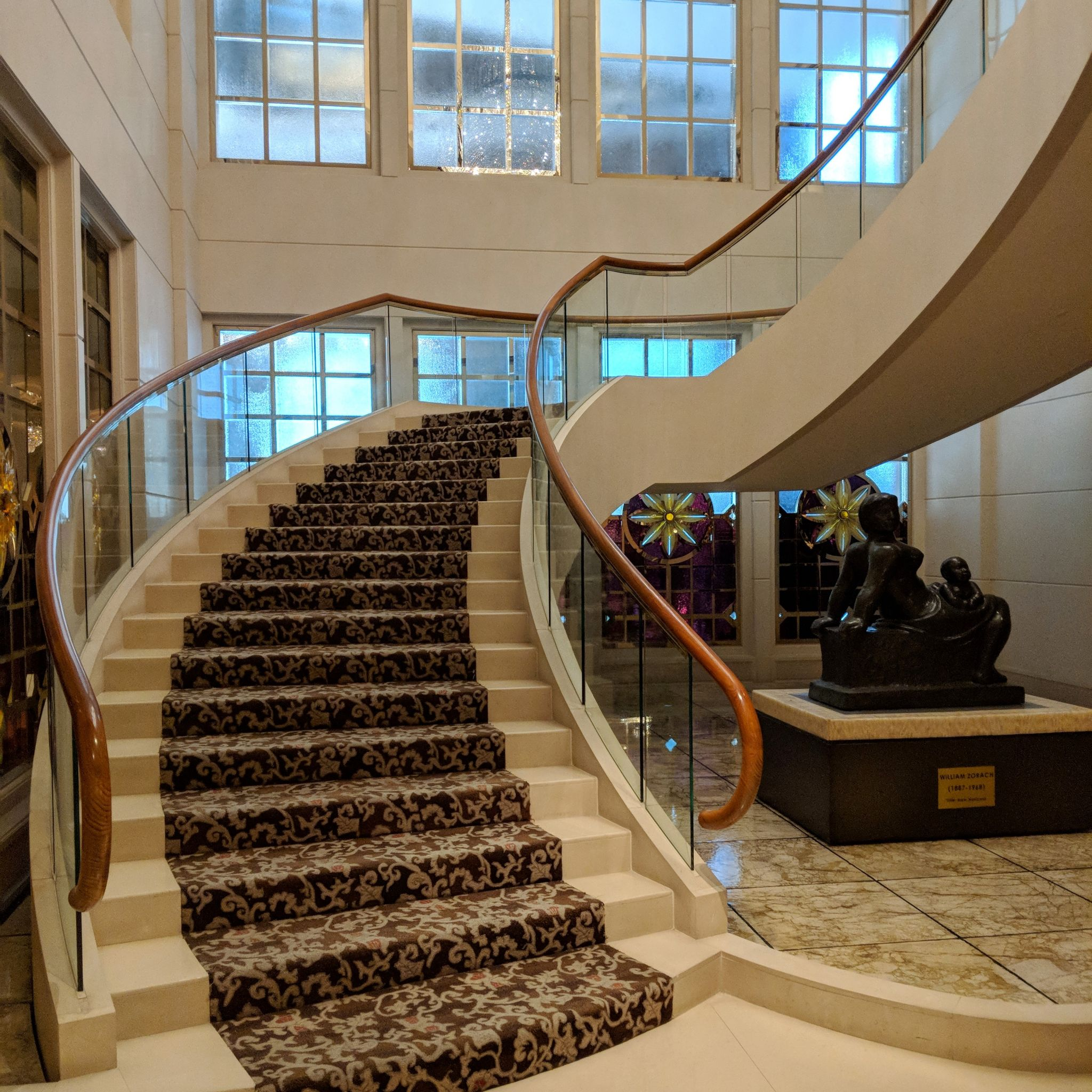 the st. regis singapore staircase